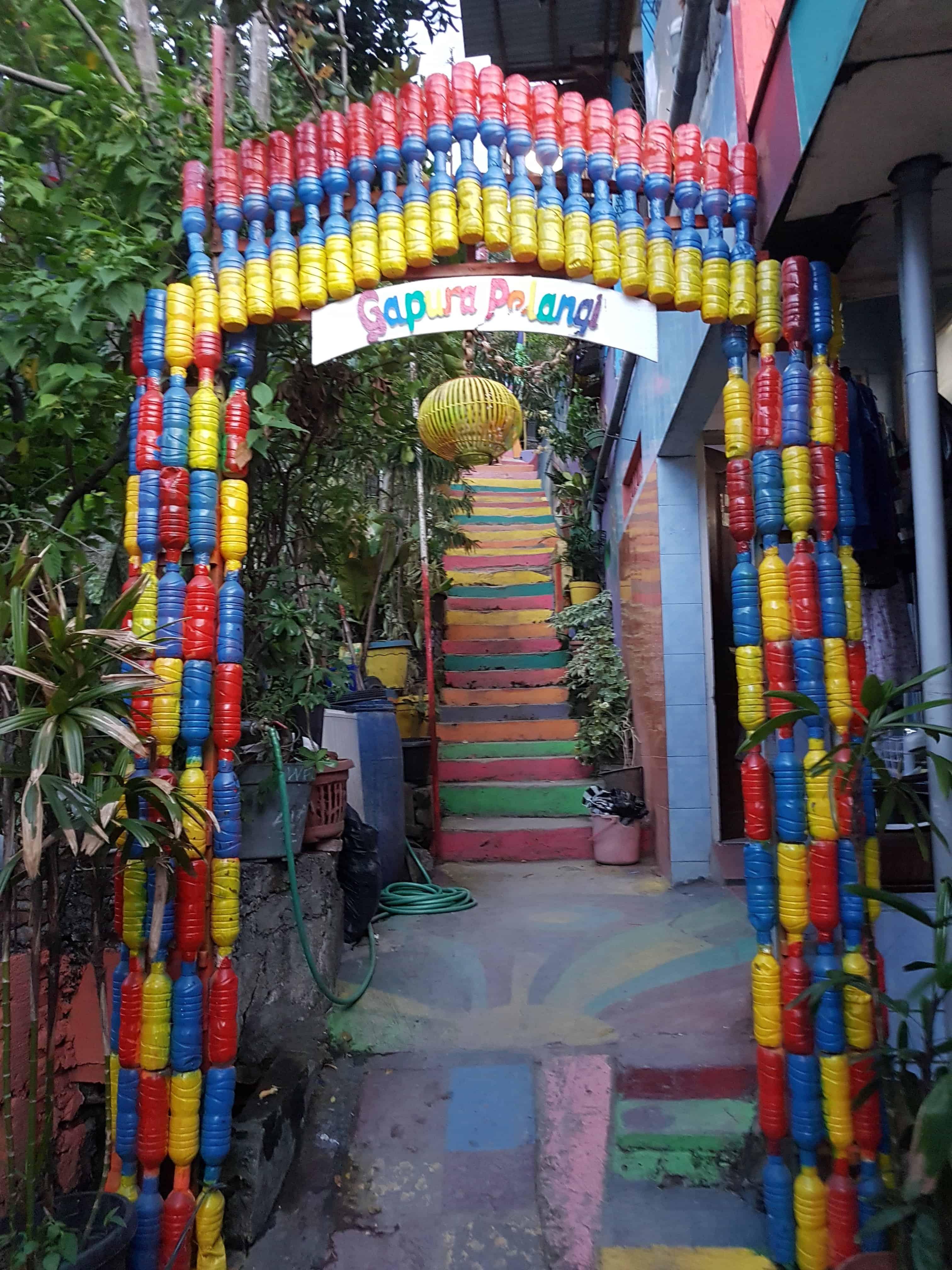 Kampung Pelangi, Indonésie