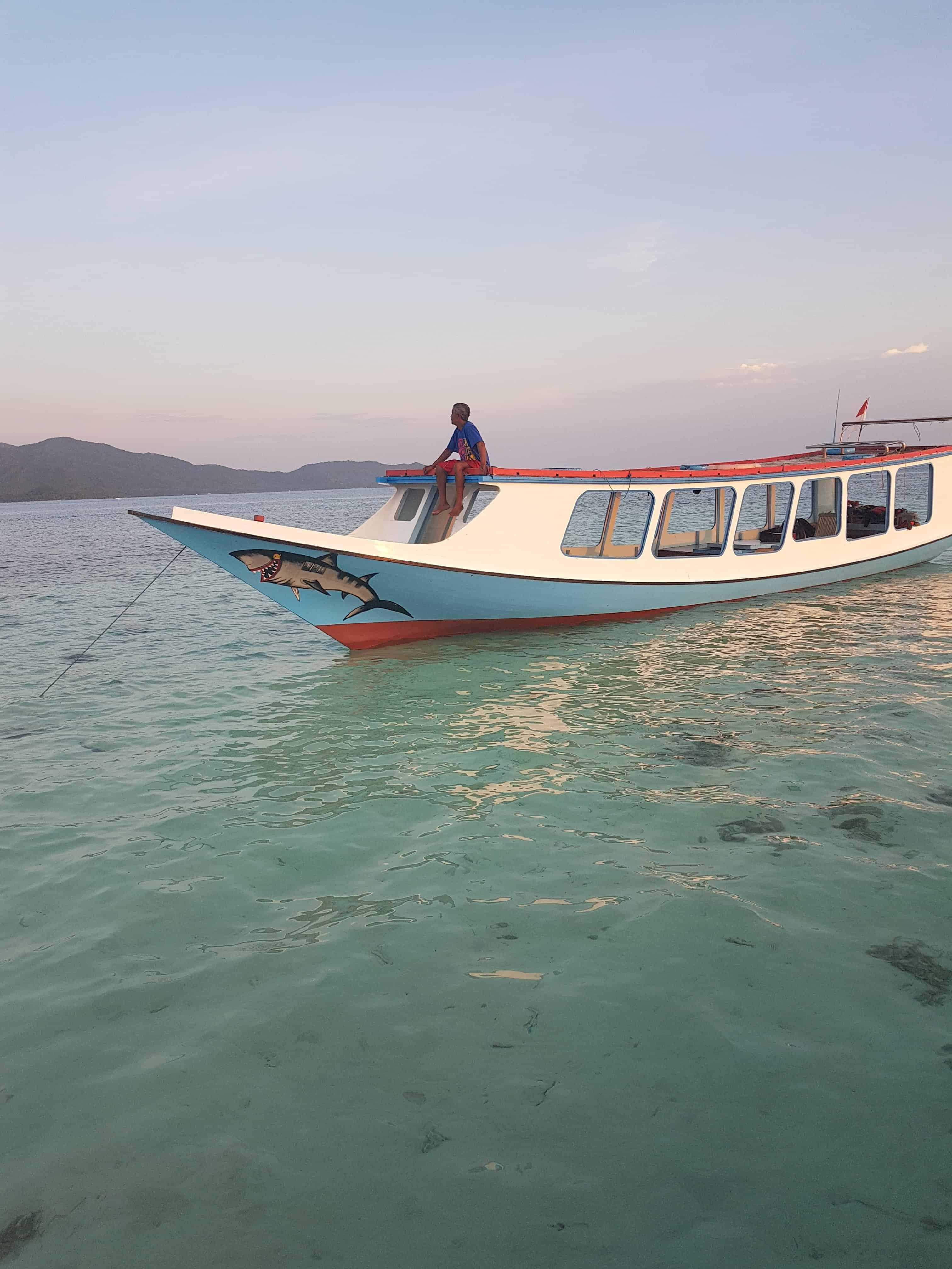 Pêcheur à Karimunjawa, Indonésie