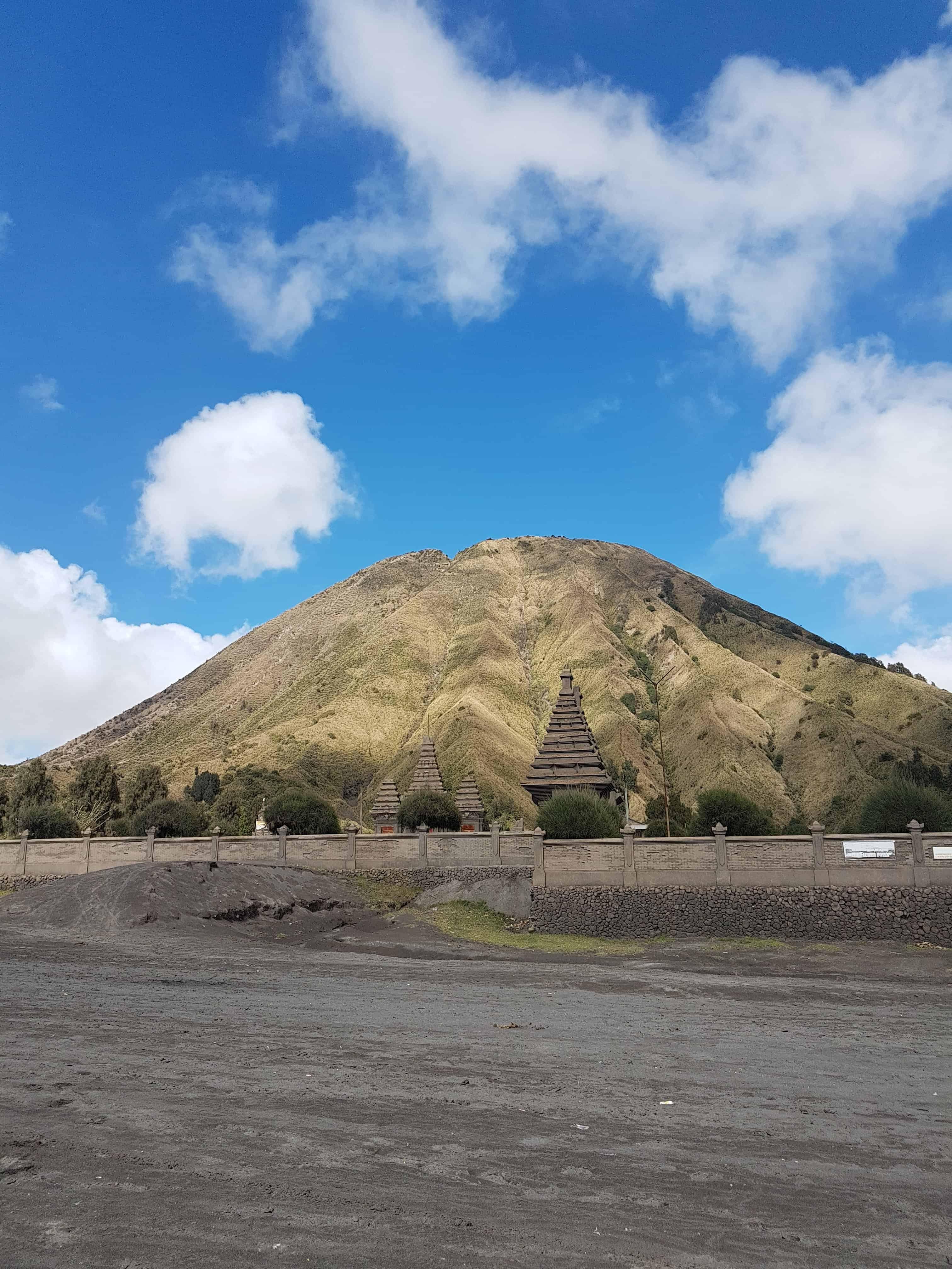 Vue sur le mont Bromo, Indonésie