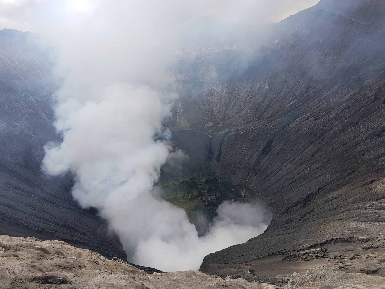 cratère du Mont Bromo, Indonésie