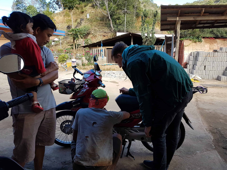 Thaïlande, sur la route de Mae Hong Son 🛵 7