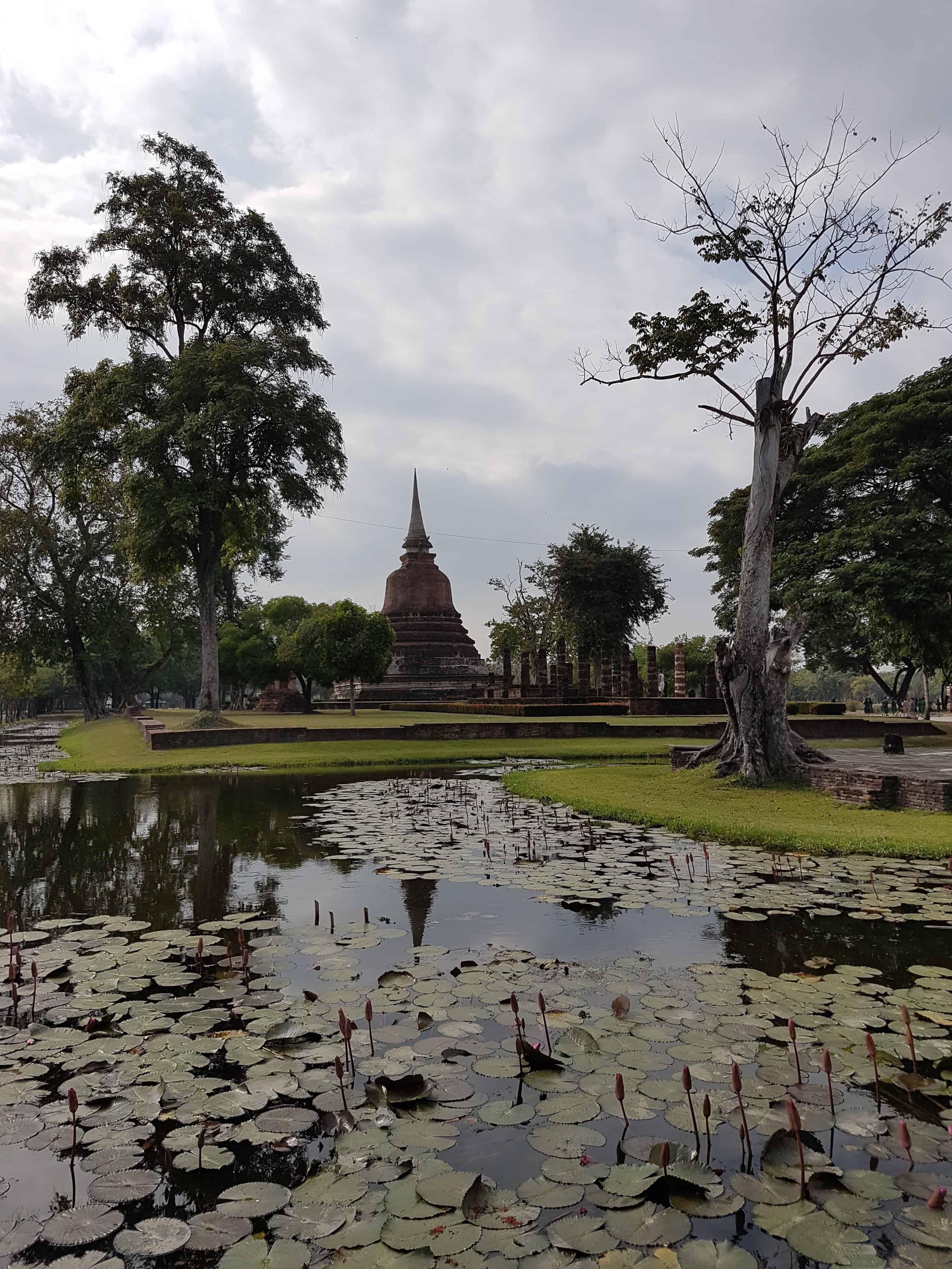Thaïlande, visite du parc de Sukhothaï 🛕 2