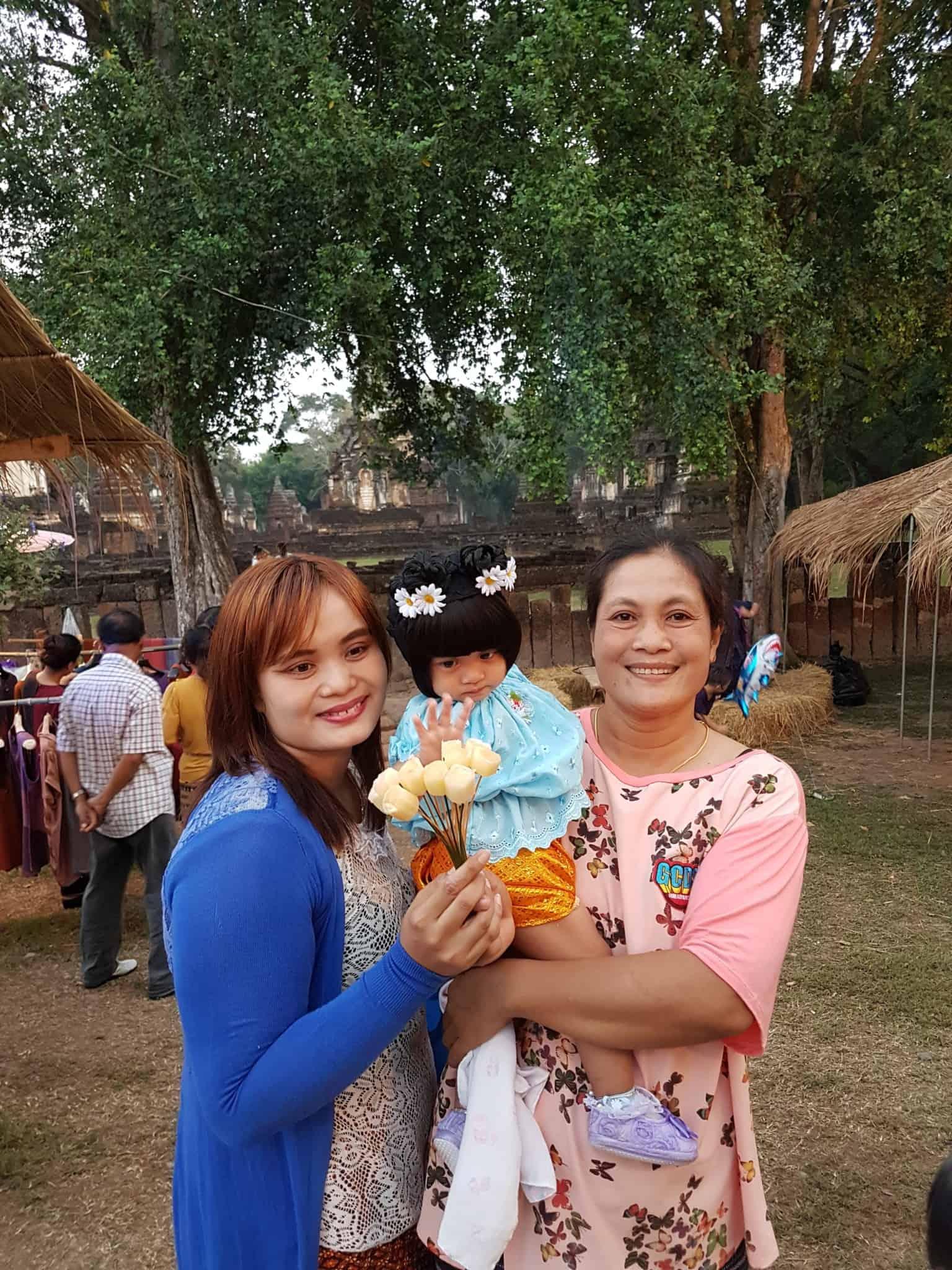 Thaïlande, festival de Si Satchanalaï🎆 14