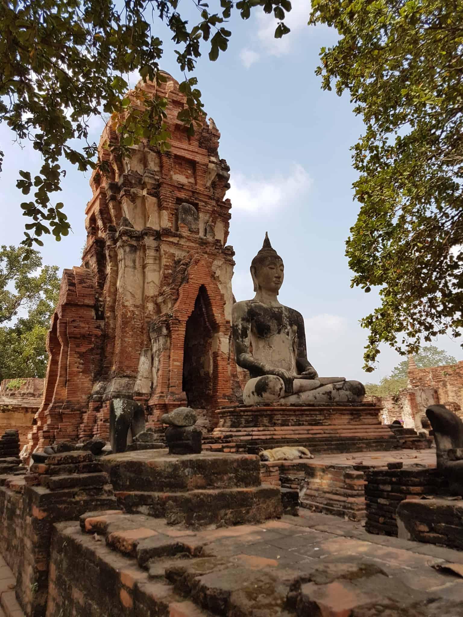 Thaïlande, visite d'Ayutthaya et de ses temples 🌞 11