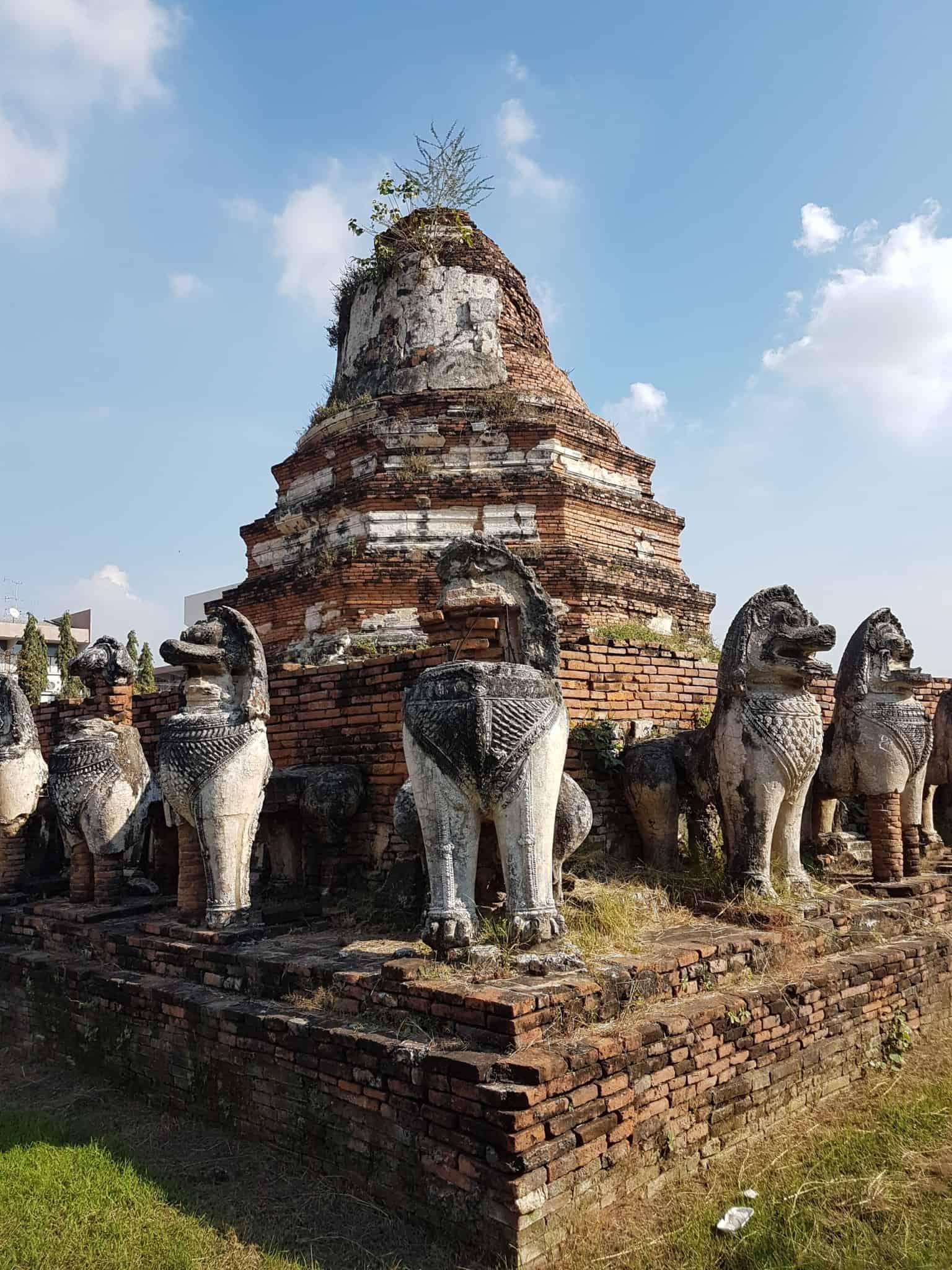 Thaïlande, visite d'Ayutthaya et de ses temples 🌞 15