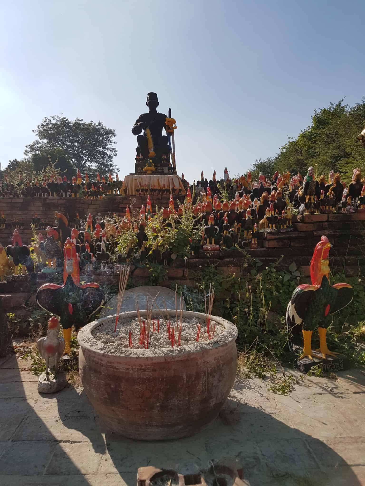 Thaïlande, visite d'Ayutthaya et de ses temples 🌞 21