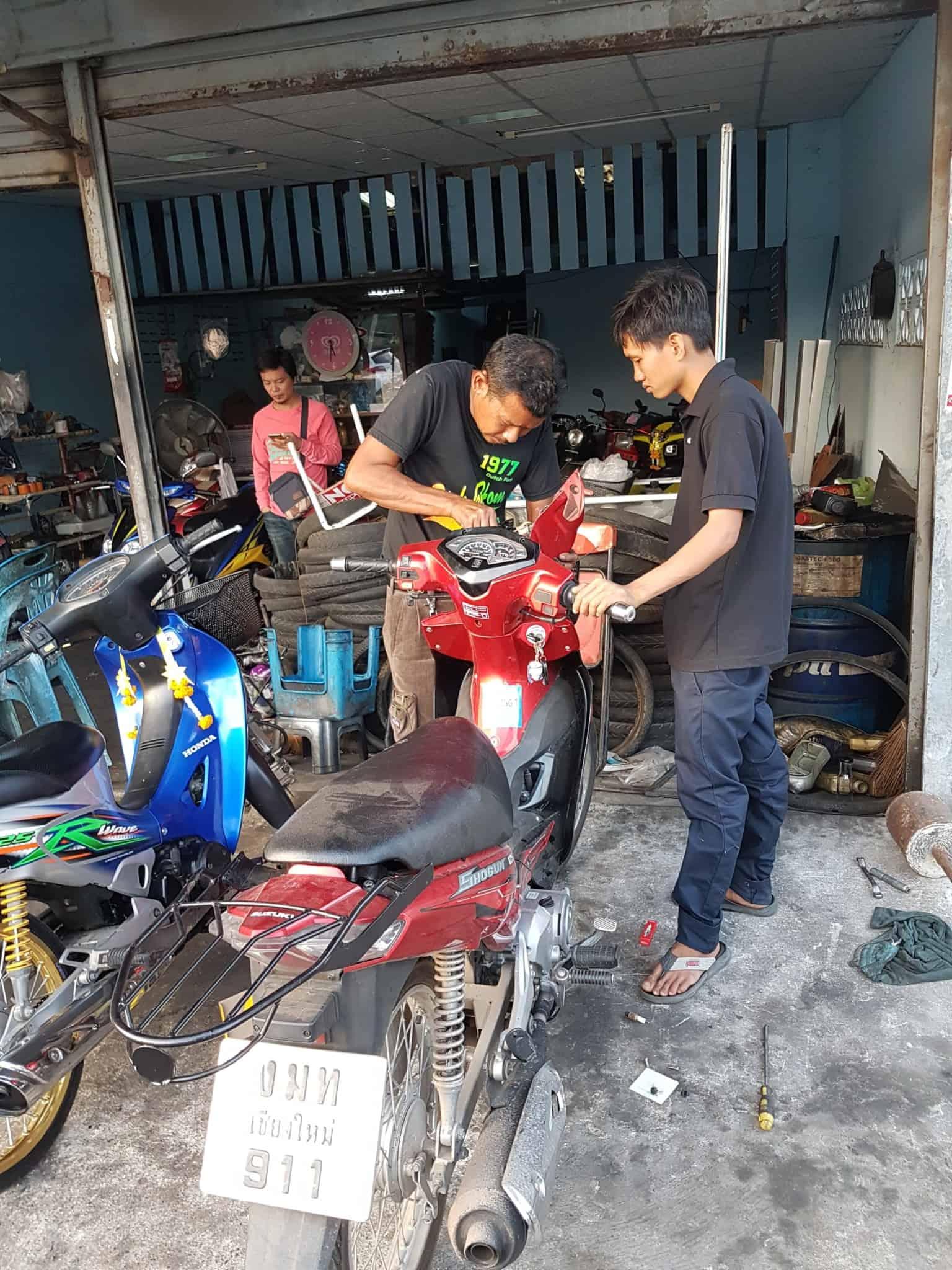 Thaïlande, sur la route cheveux au vent 🌱 1