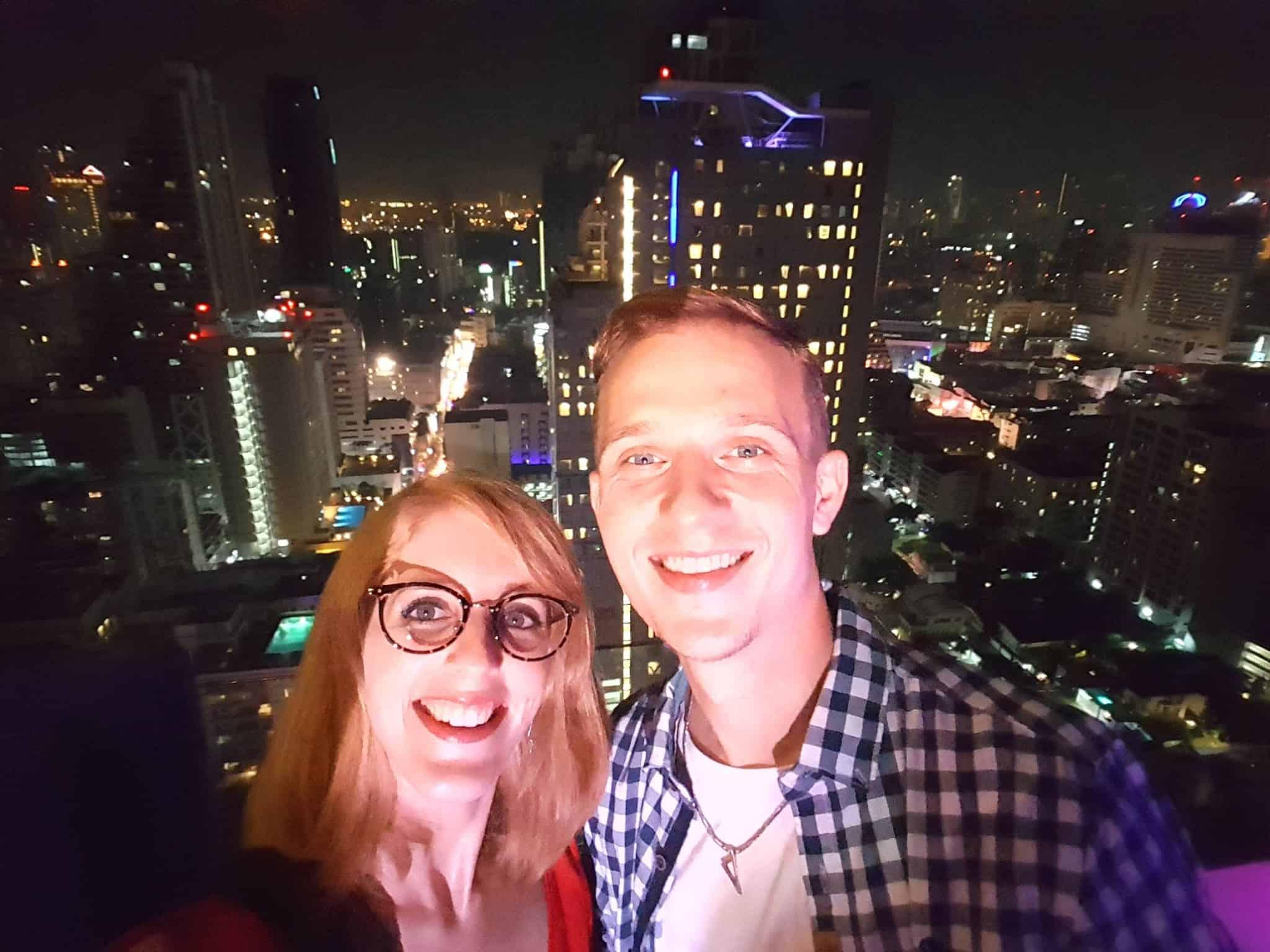 Thaïlande, nouvel an 2018 sur un rooftop à Bangkok🍾🌟 5
