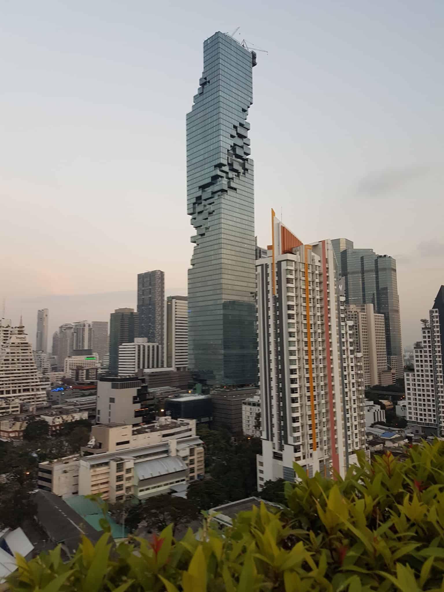 Thaïlande, coucher de soleil depuis le rooftop du Furama Hotel 🌇 9