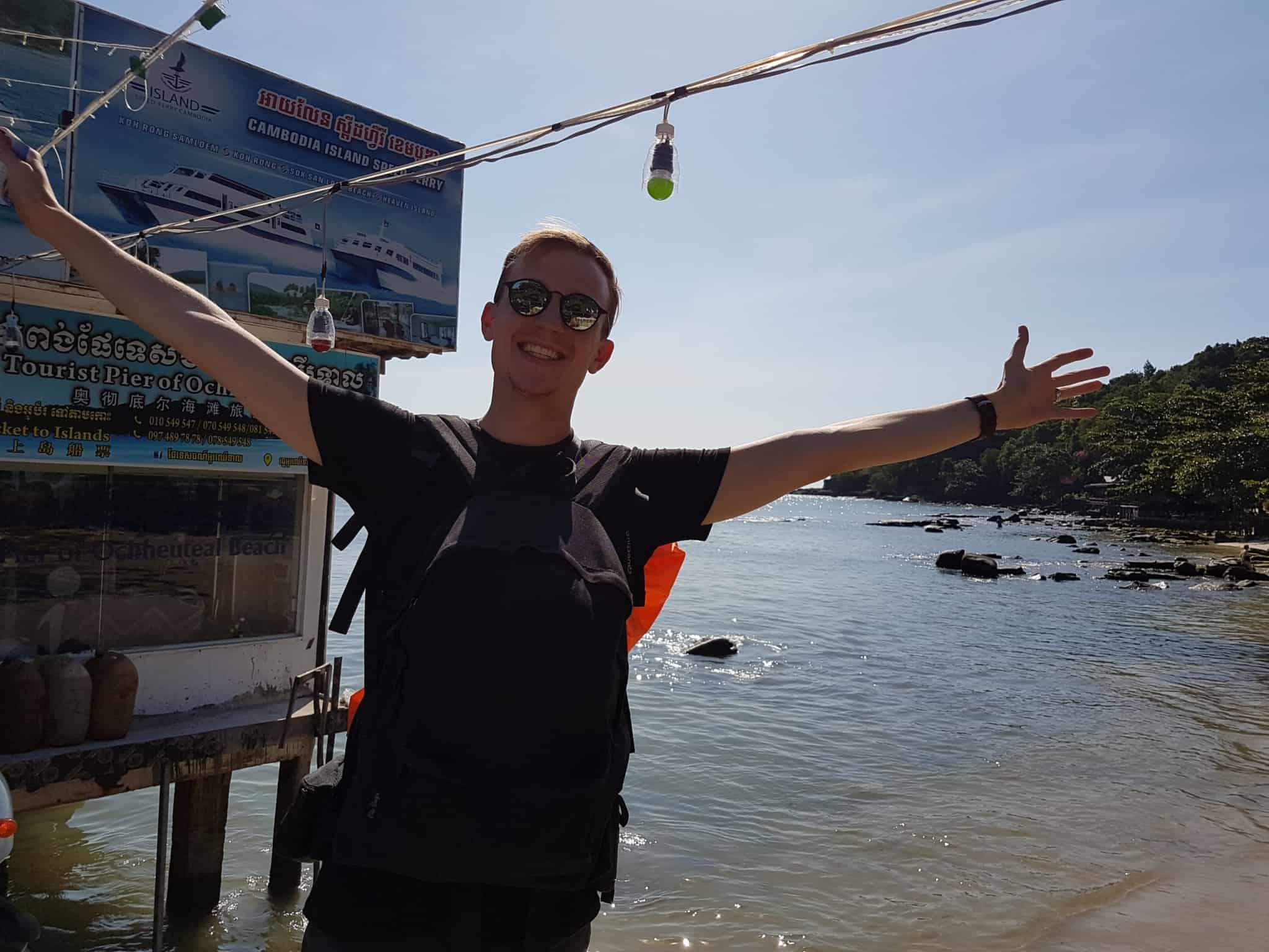 Cambodge, quand une rencontre t'amène sur une île paradisiaque 🌴 8