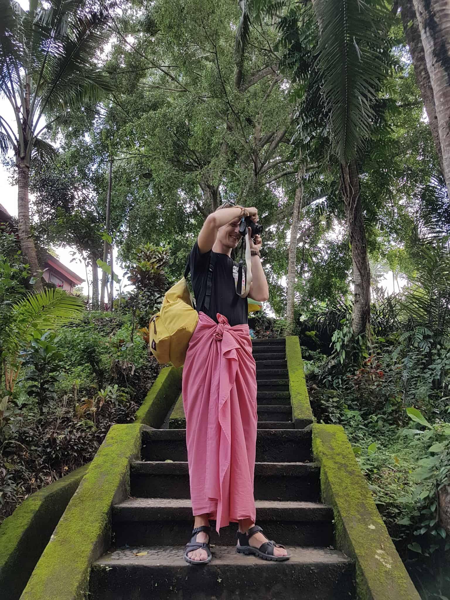Bali, le joli et atypique temple Goa Gajah 🛕 1