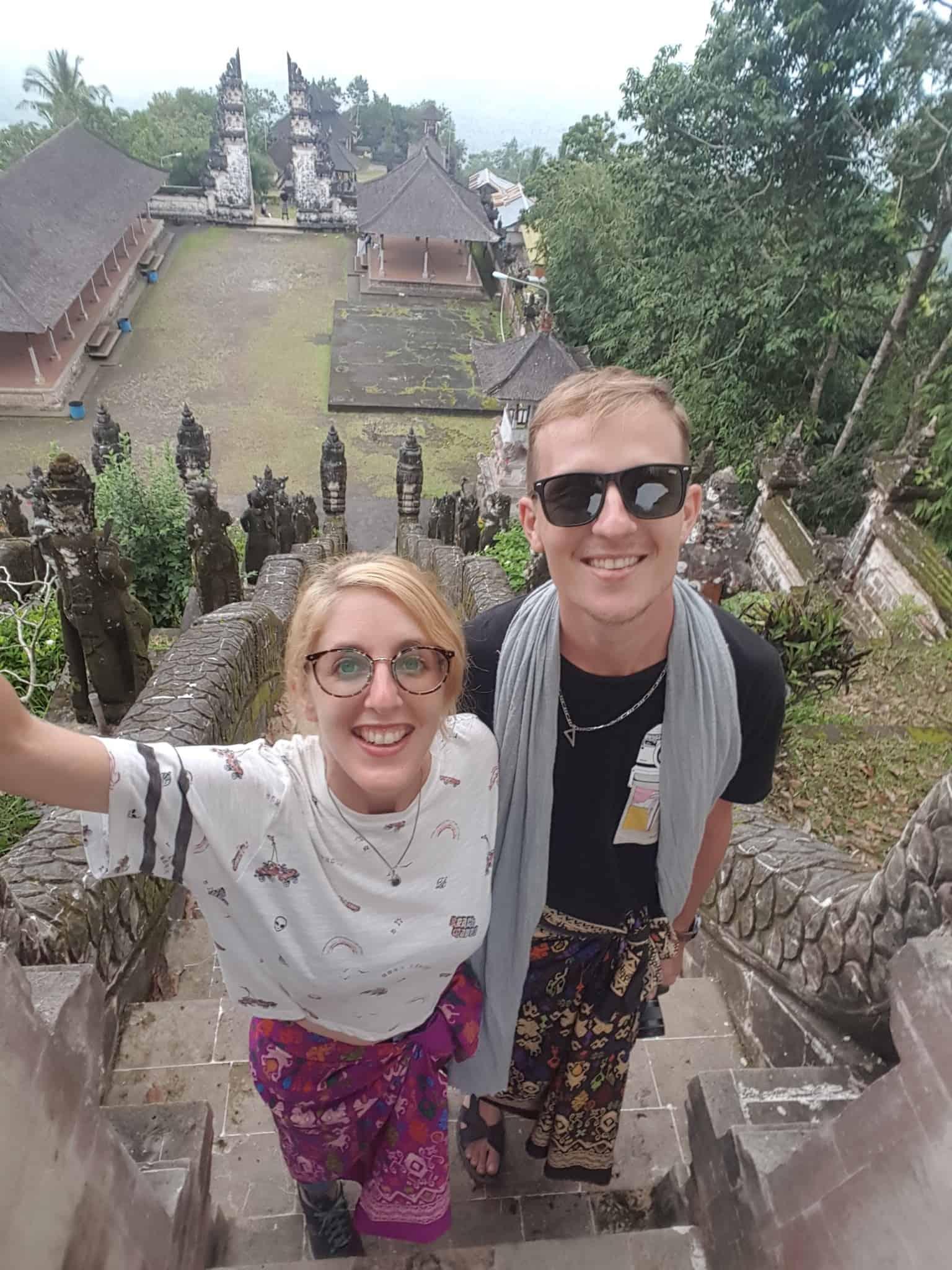 Bali, l'incroyable vue du temple Pura Lempuyang Luhur 🌋 7