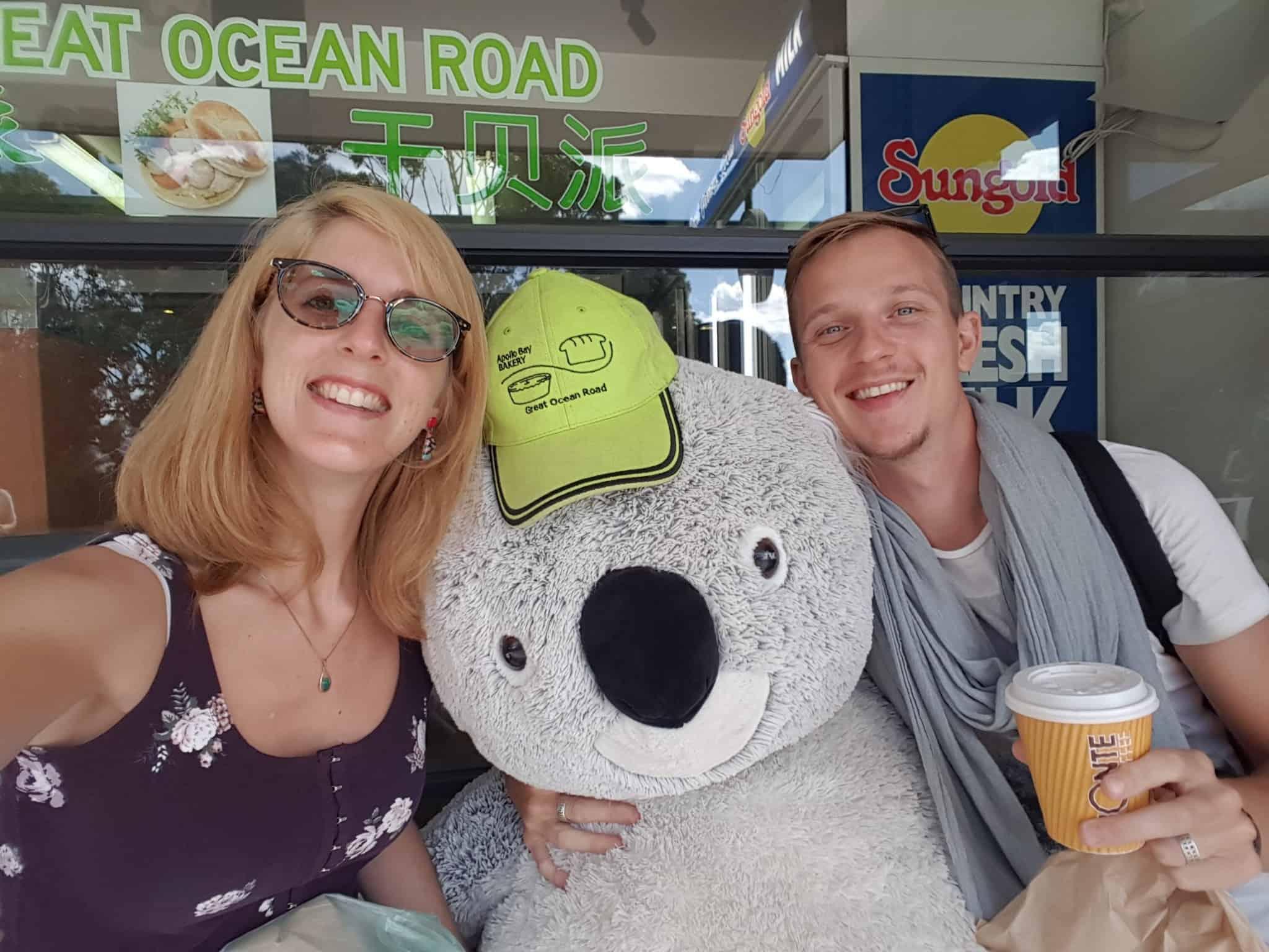 Australie, après 1 200 km de route on arrive à Melbourne 🏬 10