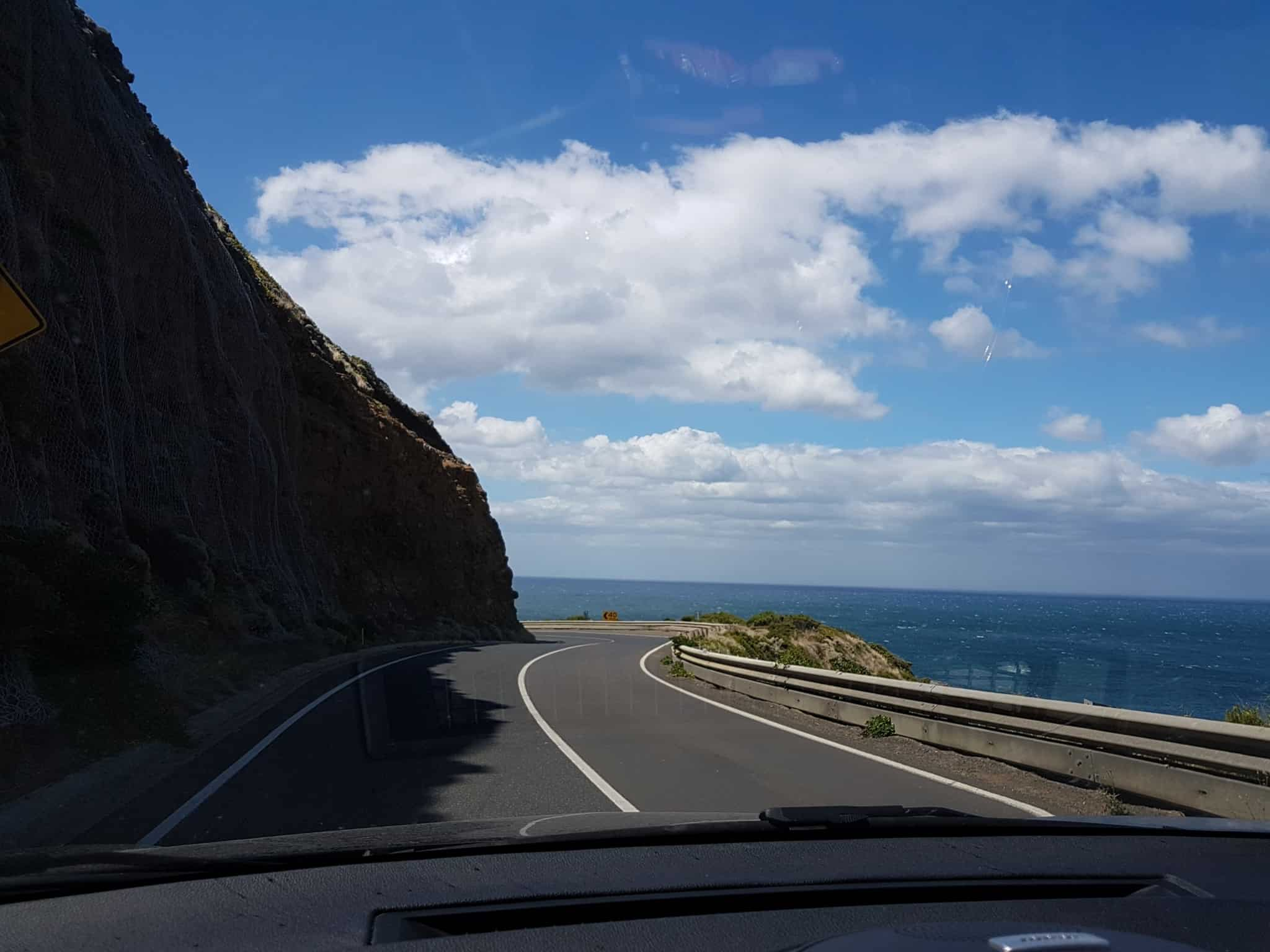 Australie, après 1 200 km de route on arrive à Melbourne 🏬 12
