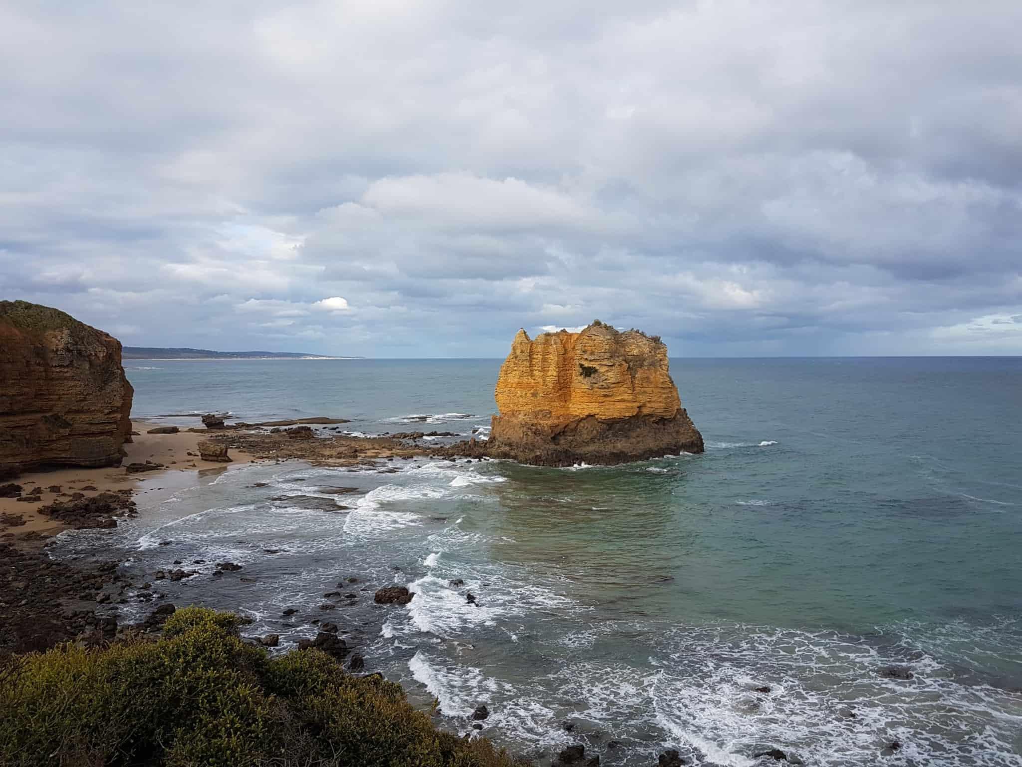 Australie, après 1 200 km de route on arrive à Melbourne 🏬 15