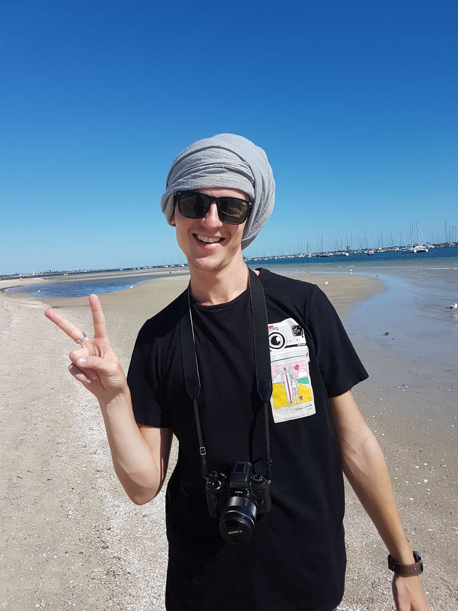 """Australie, la plage de St Kilda ou la """"traversée du désert"""" 👳 18"""