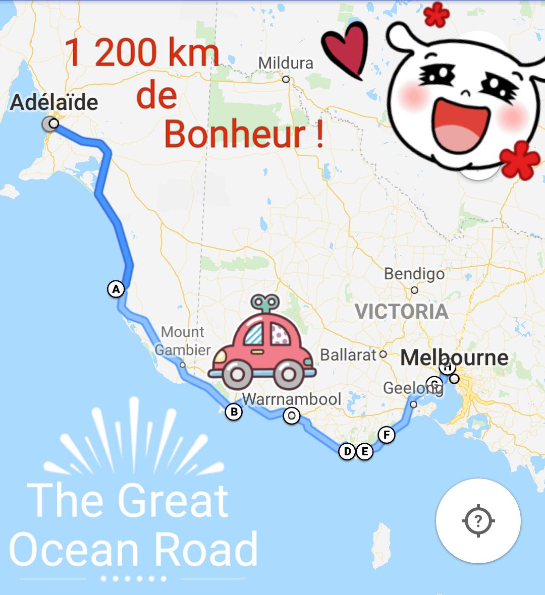 Australie, après 1 200 km de route on arrive à Melbourne 🏬 17