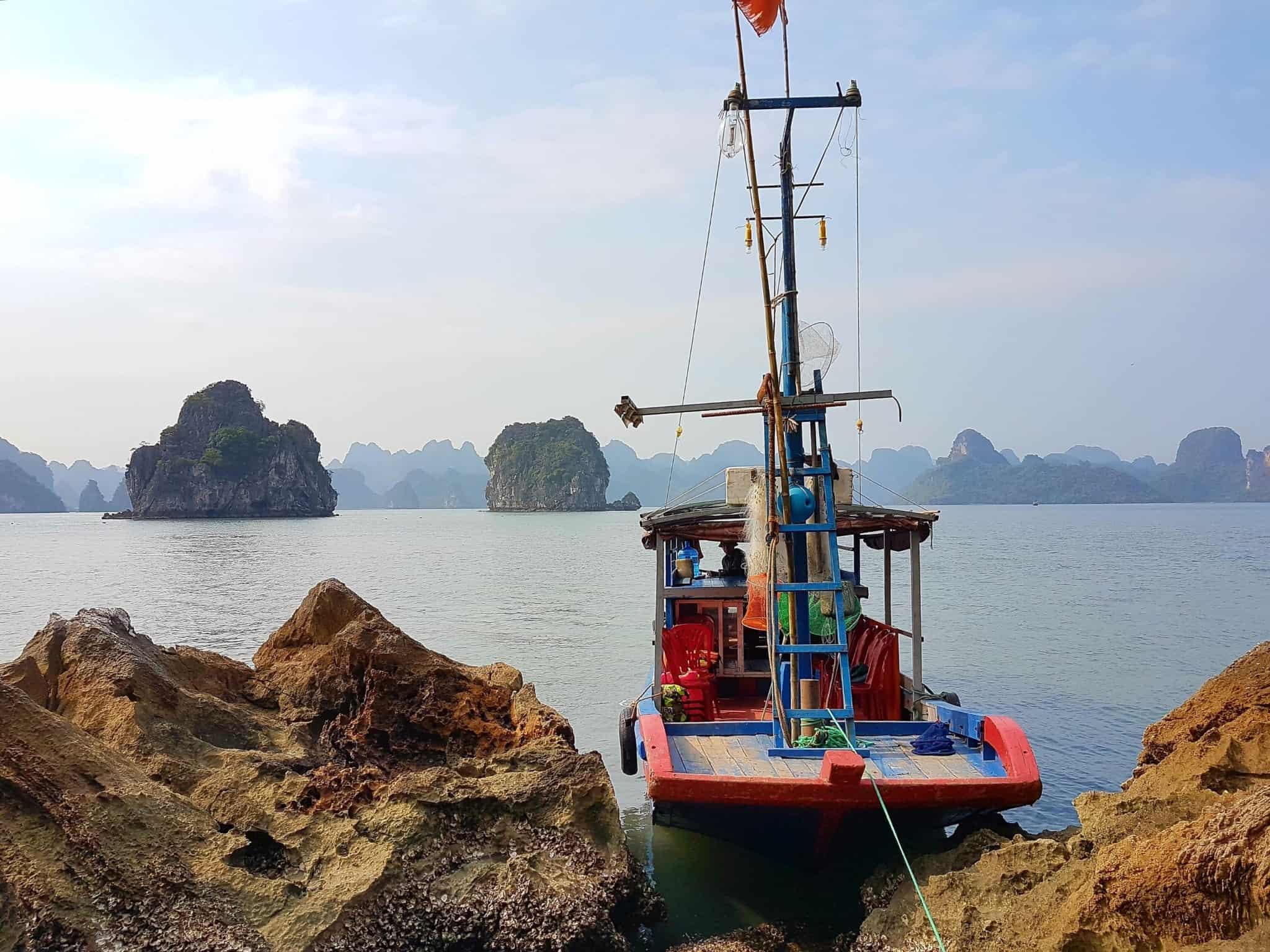 Vietnam, tour en bateau privé dans la baie d'Halong ⛵ 18