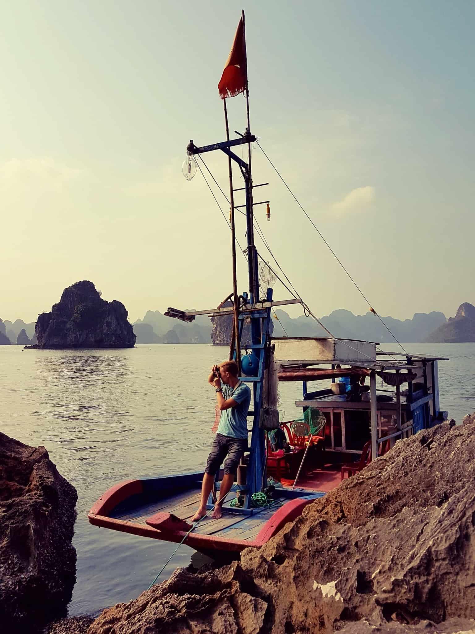 Vietnam, tour en bateau privé dans la baie d'Halong ⛵ 19