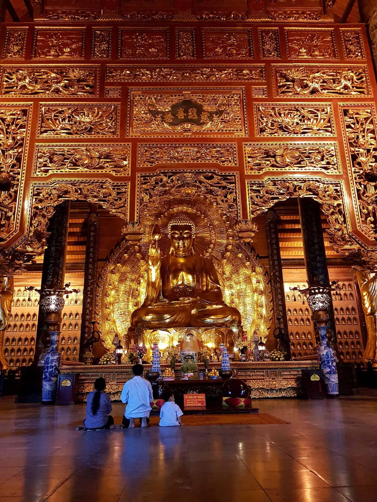 Vietnam, l'incontournable temple de Bai Dinh aux 500 statues 🛕 23