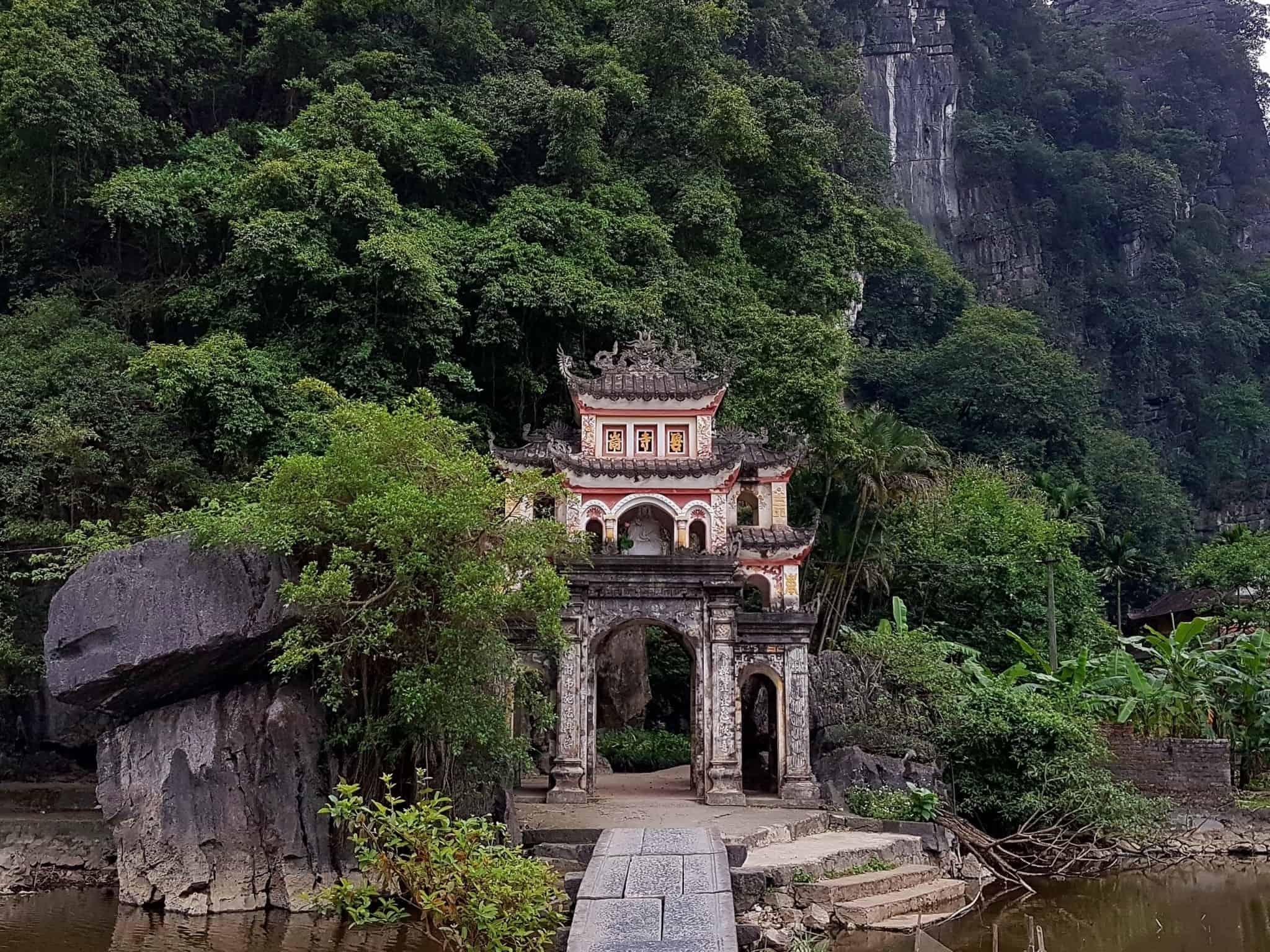 Vietnam, la charmante Pagode Bich Dông 🕯 37