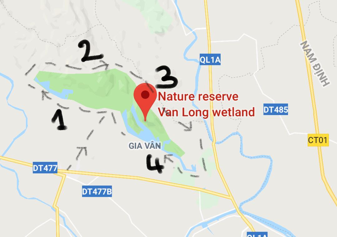 Vietnam, la magnifique réserve naturelle de Vân Long 🌾 1