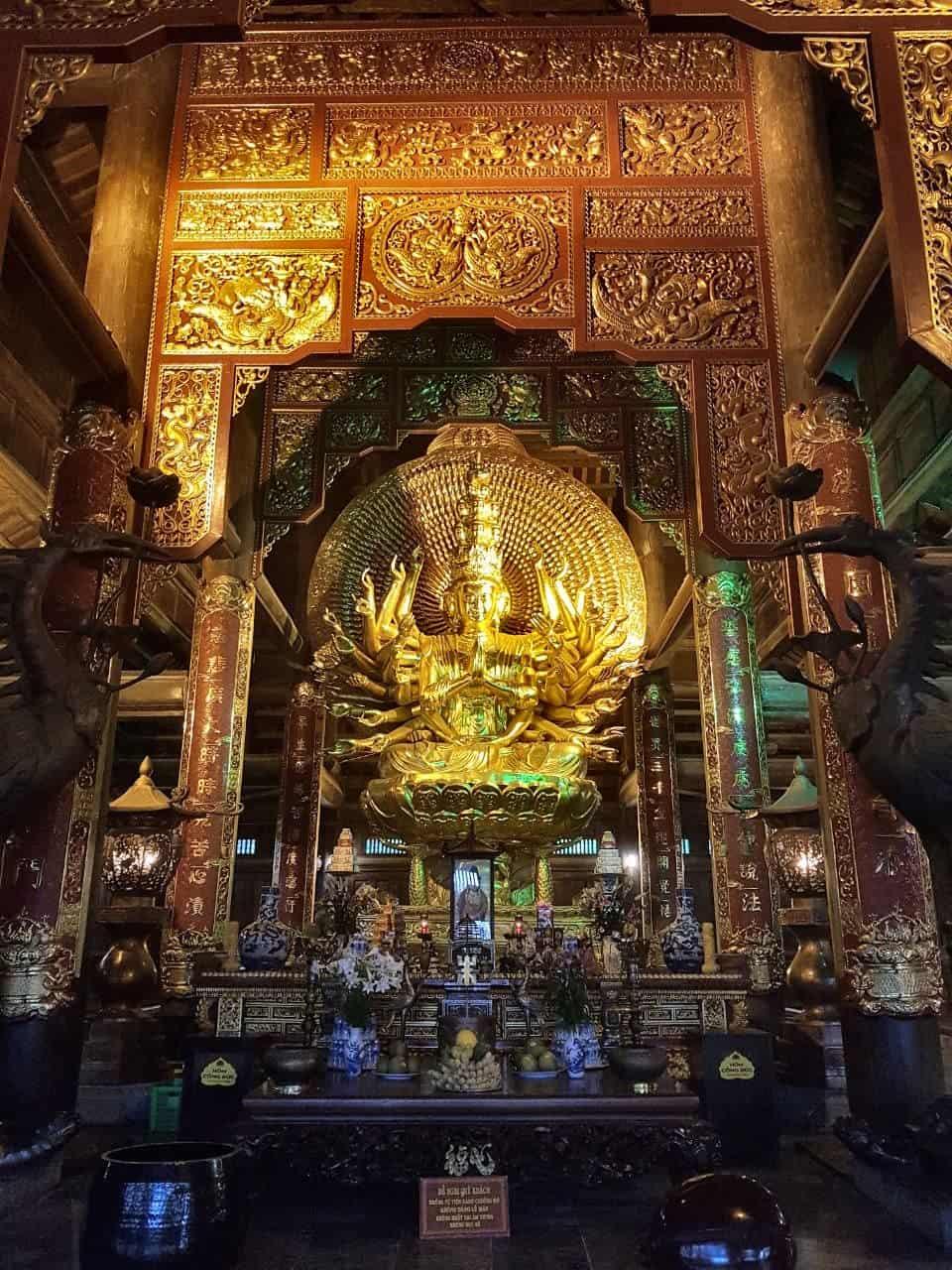 Vietnam, l'incontournable temple de Bai Dinh aux 500 statues 🛕 22