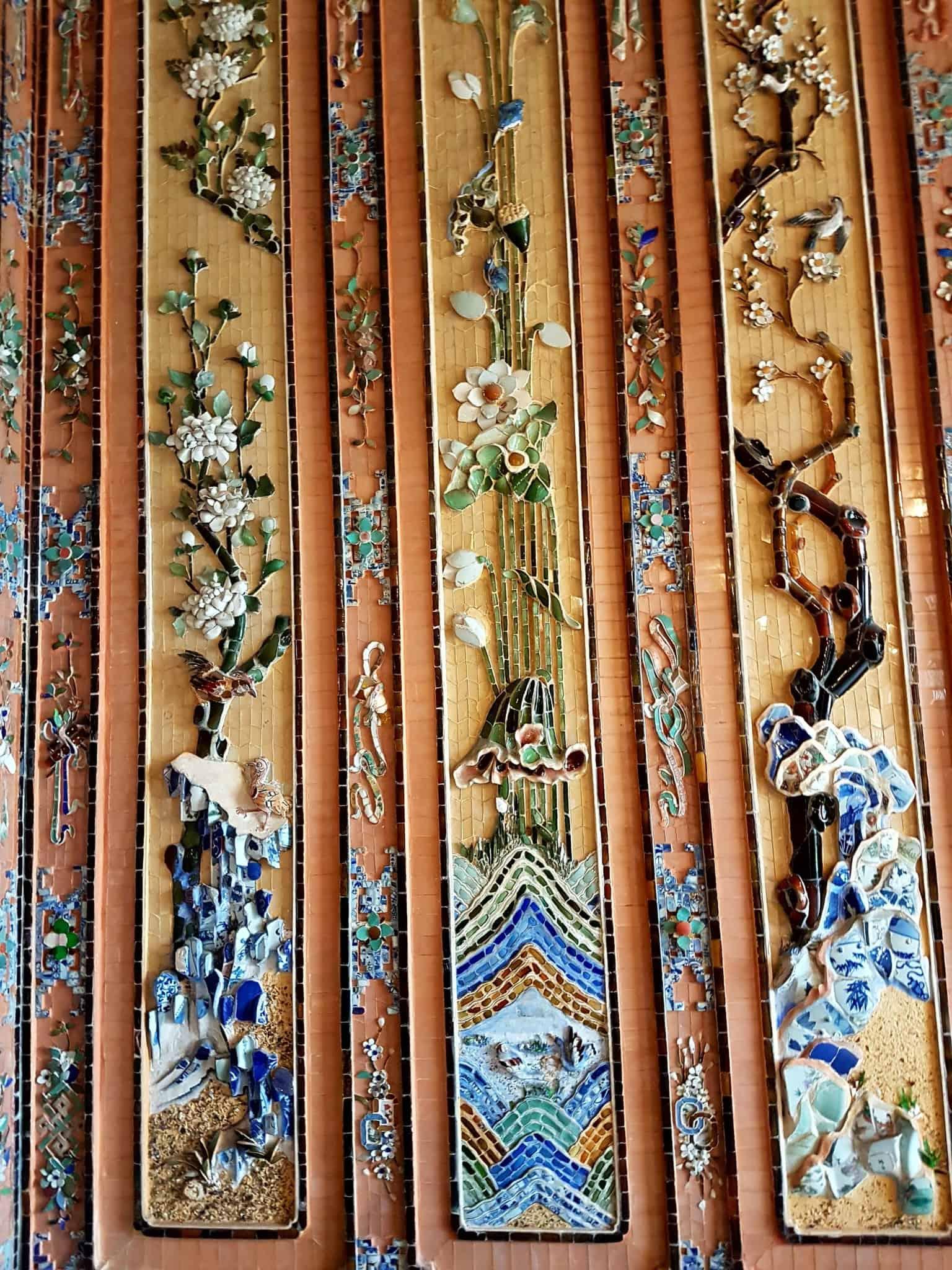 Vietnam, scotchés devant la beauté du mausolée de l'empereur Khai Dinh ⚰ 13