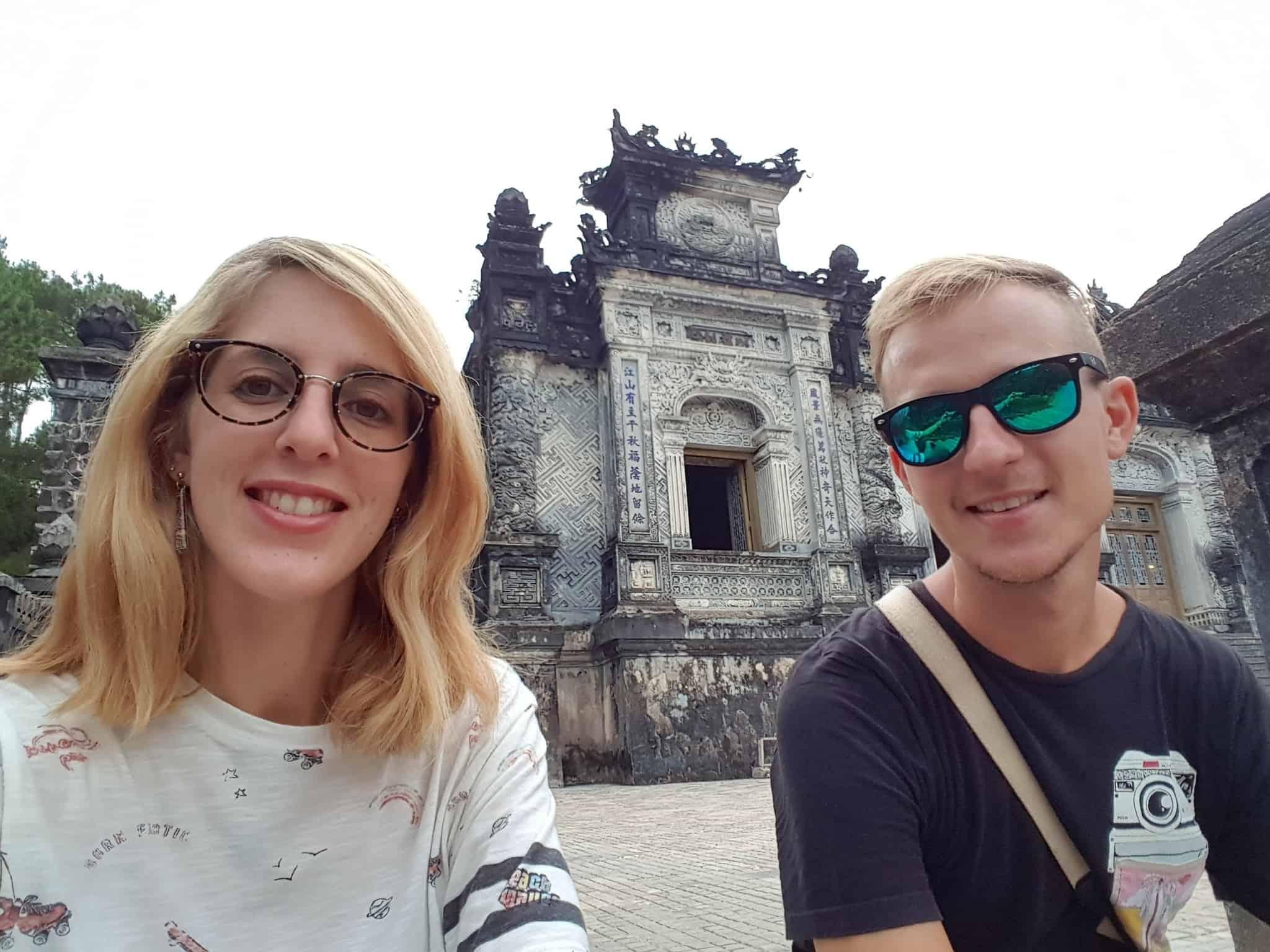 Vietnam, scotchés devant la beauté du mausolée de l'empereur Khai Dinh ⚰ 20