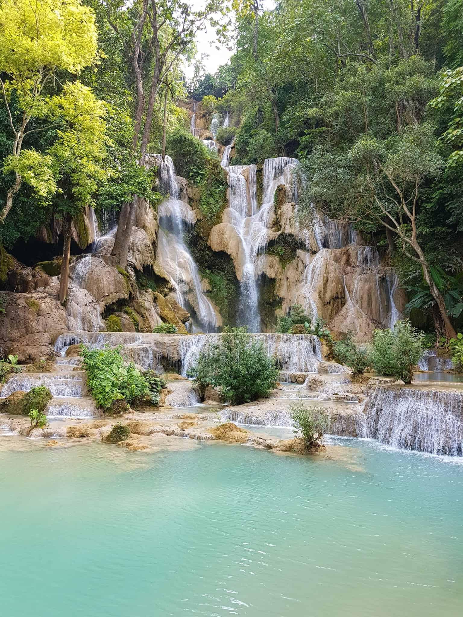 Laos, Kuang Si Waterfall une cascade à couper le souffle 👙 3