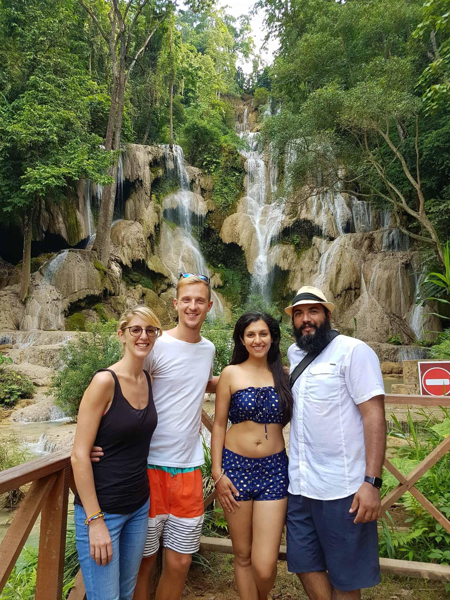 Laos, Kuang Si Waterfall une cascade à couper le souffle 👙 4