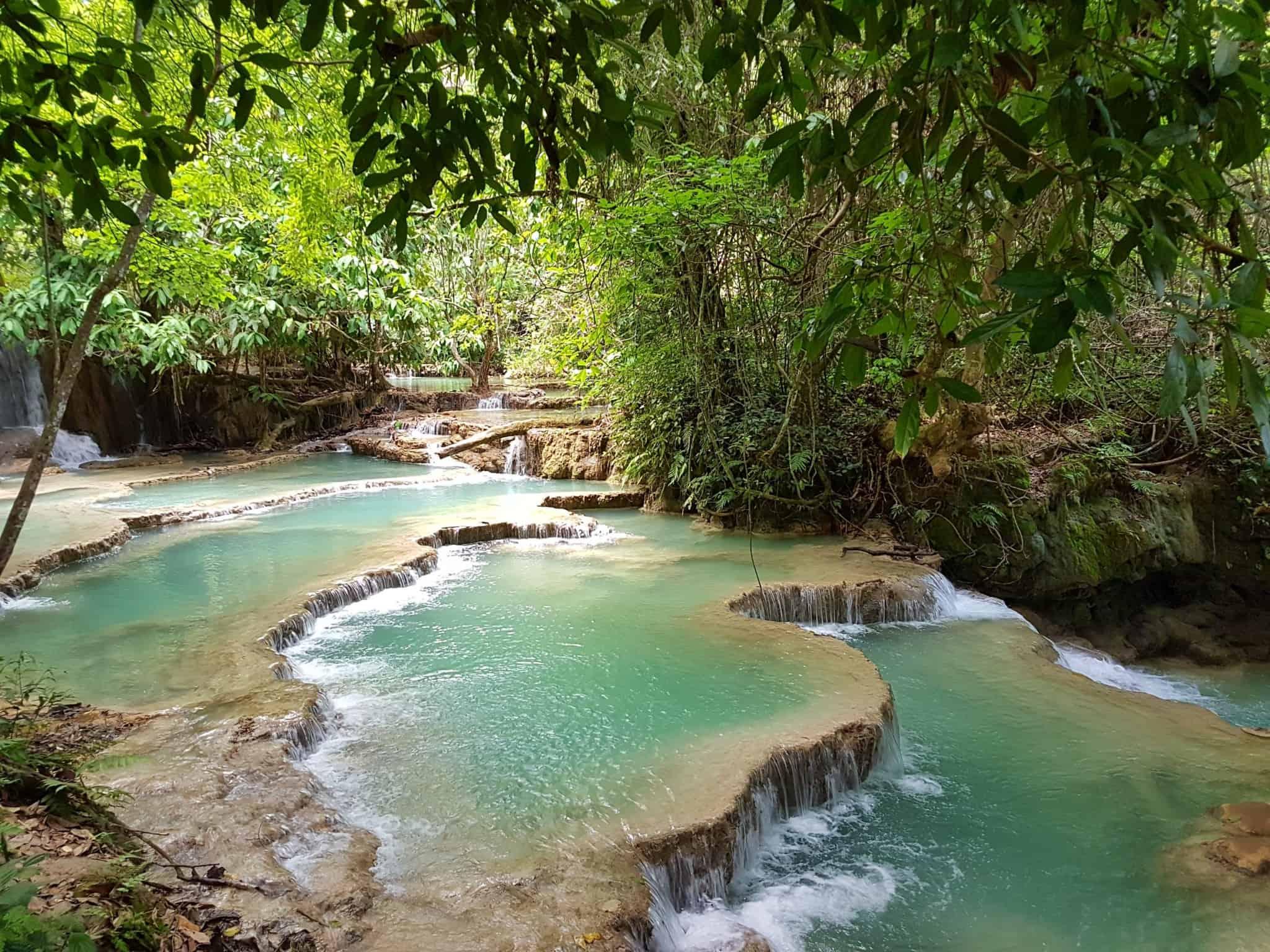 Laos, Kuang Si Waterfall une cascade à couper le souffle 👙 6