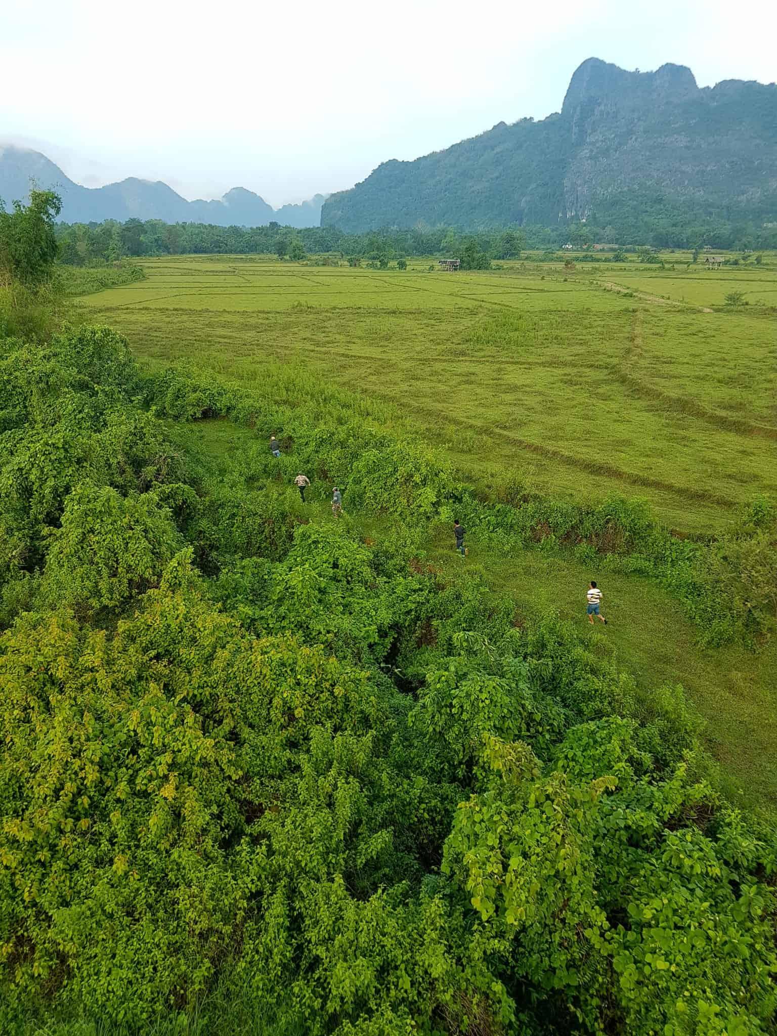 Laos, un vol en montgolfière au dessus de Vang Vieng riche en émotions 🎈 13