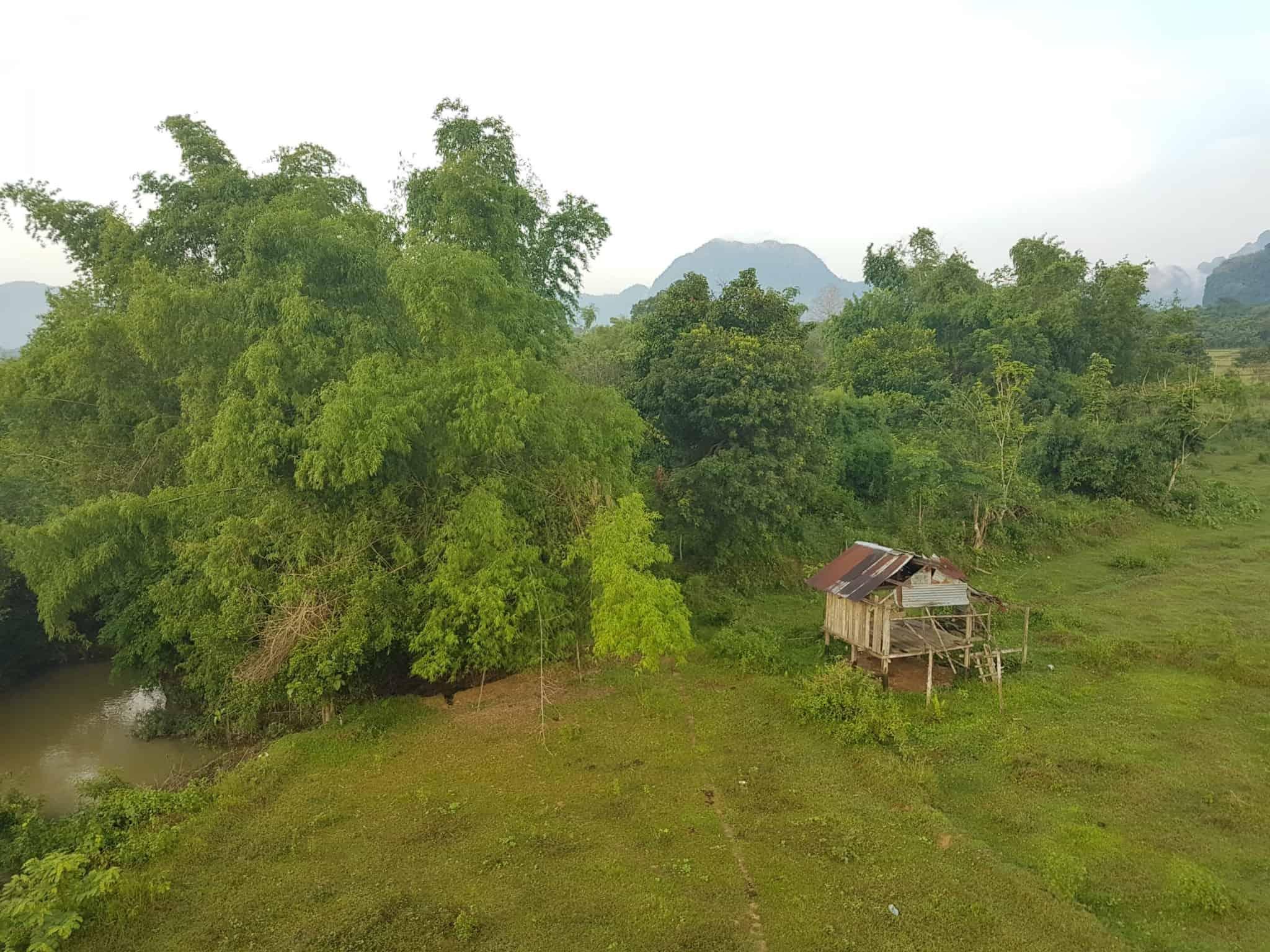 Laos, un vol en montgolfière au dessus de Vang Vieng riche en émotions 🎈 15