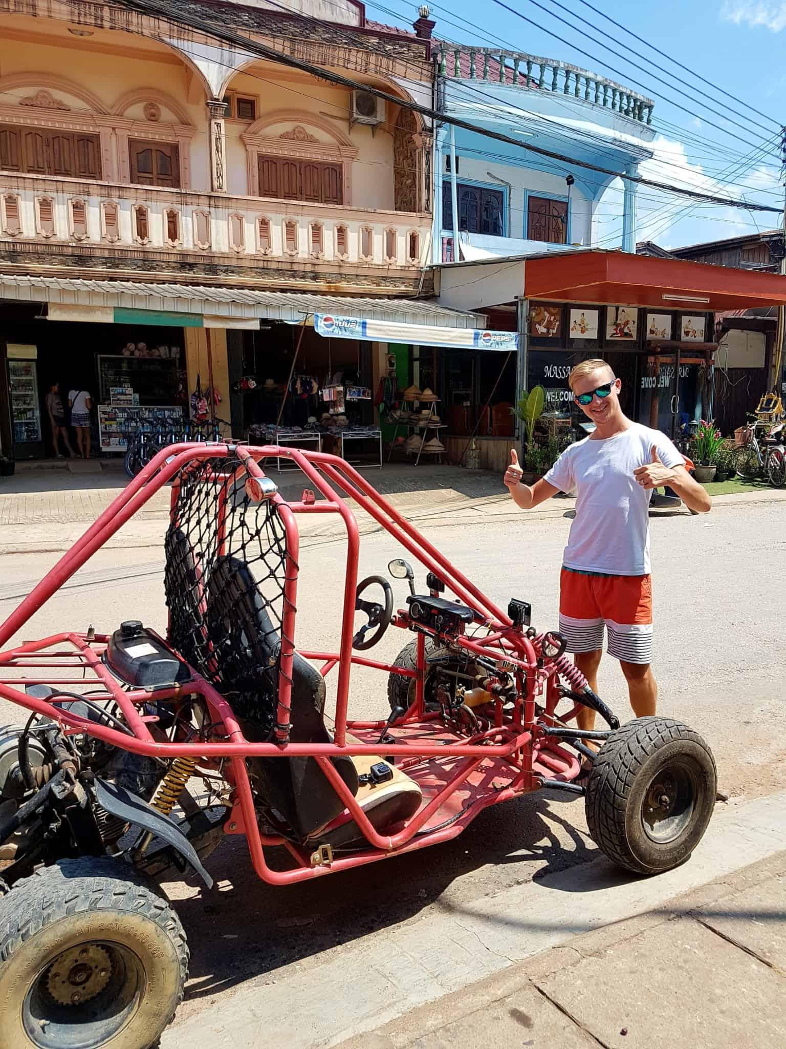 Laos, un tour en buggy qui ne se passe pas comme prévu 🏎 1