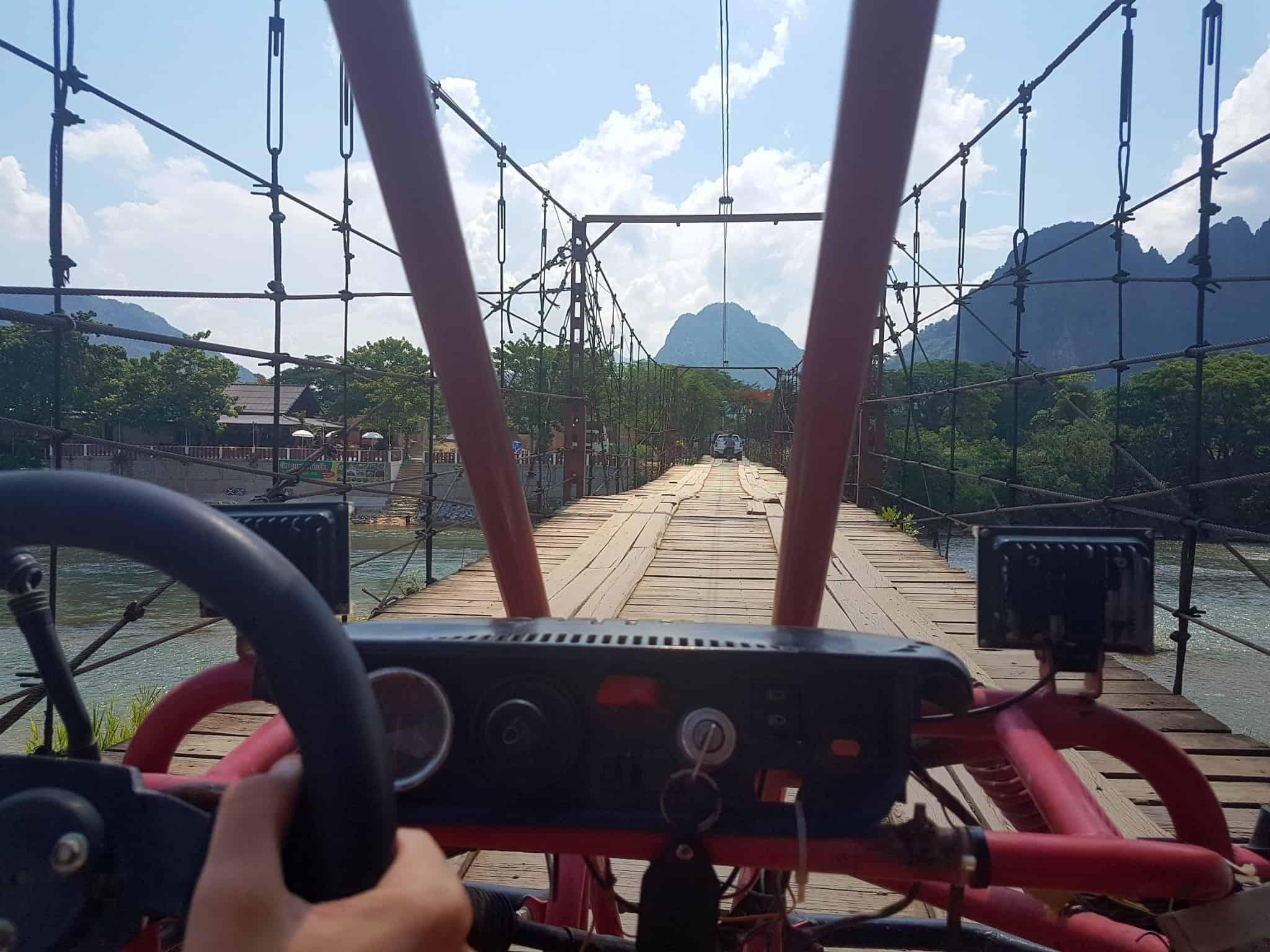 Laos, un tour en buggy qui ne se passe pas comme prévu 🏎 2