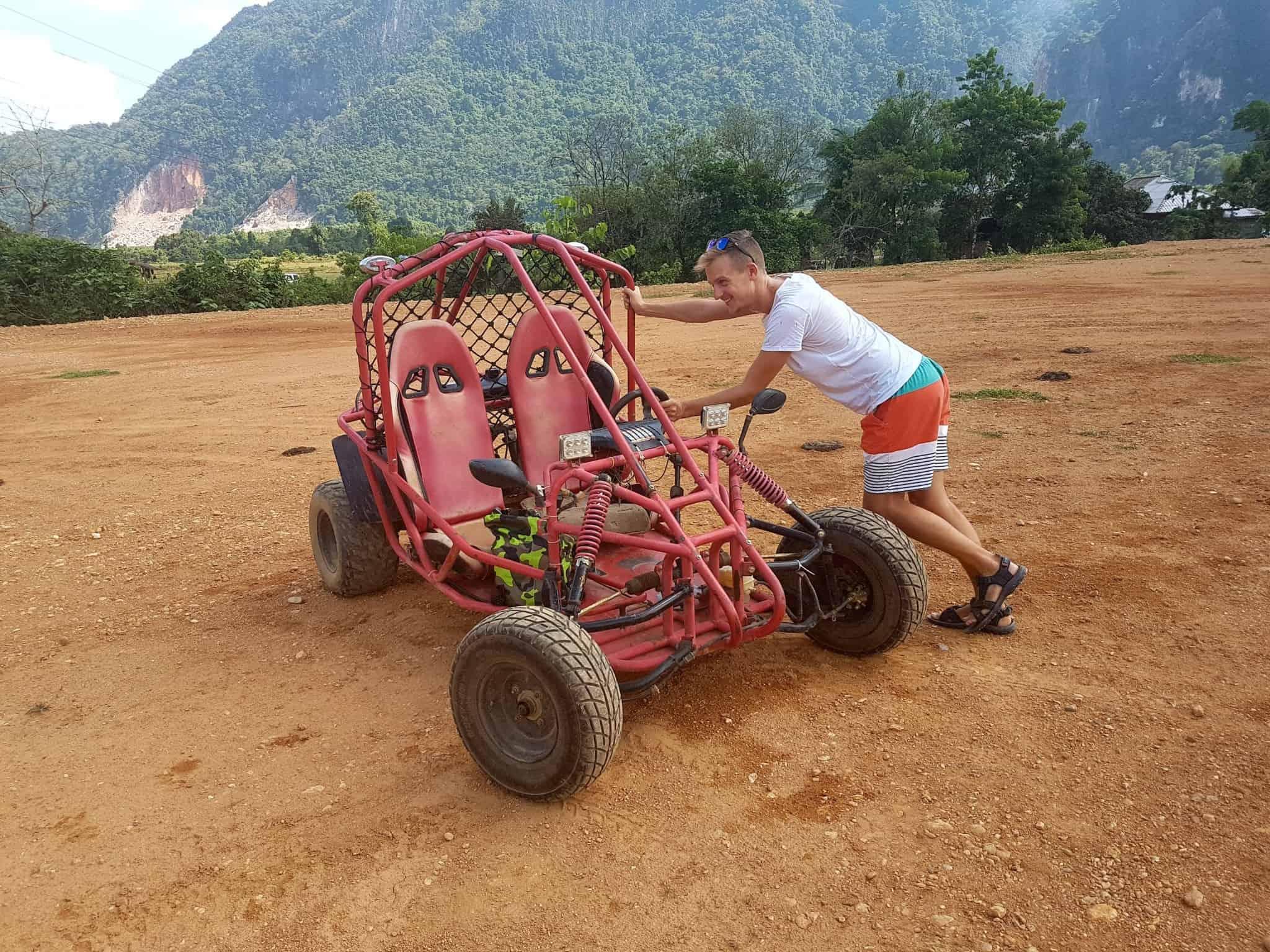 Laos, un tour en buggy qui ne se passe pas comme prévu 🏎 7