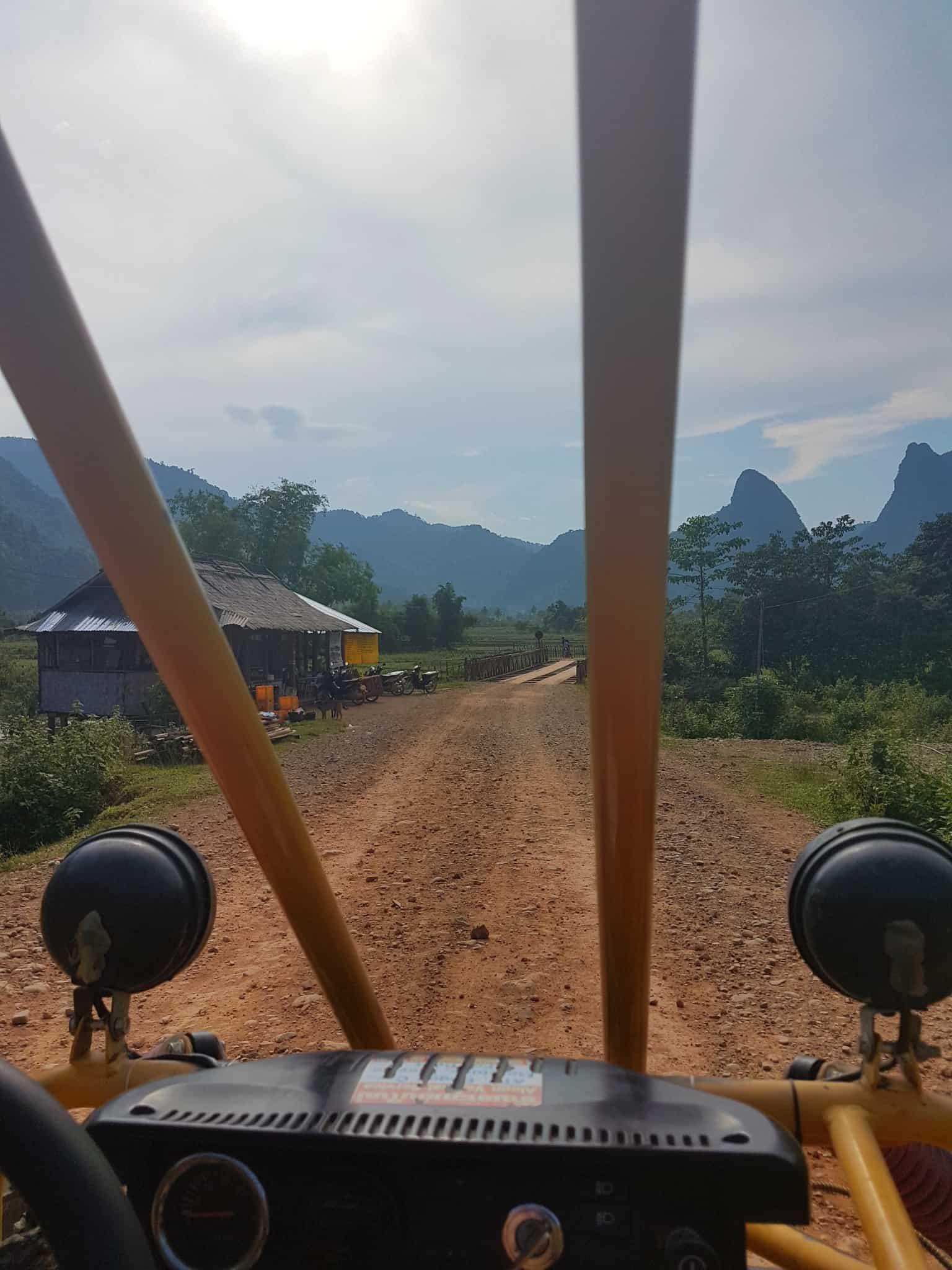Laos, un tour en buggy qui ne se passe pas comme prévu 🏎 9