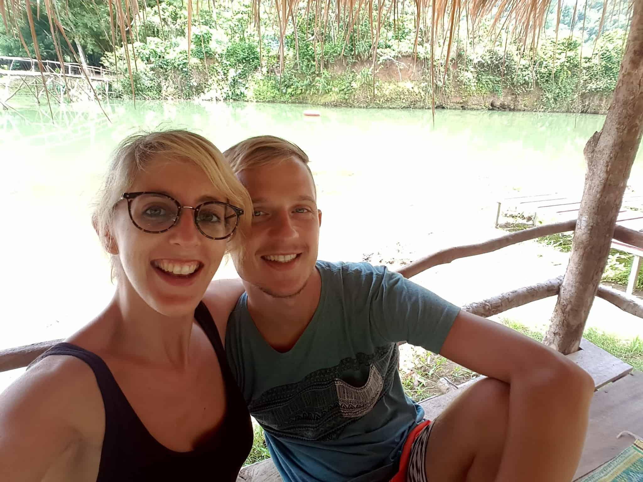 Laos, quand tu te prends pour Pocahontas sur un canoë à Vang Vieng 🛶 6