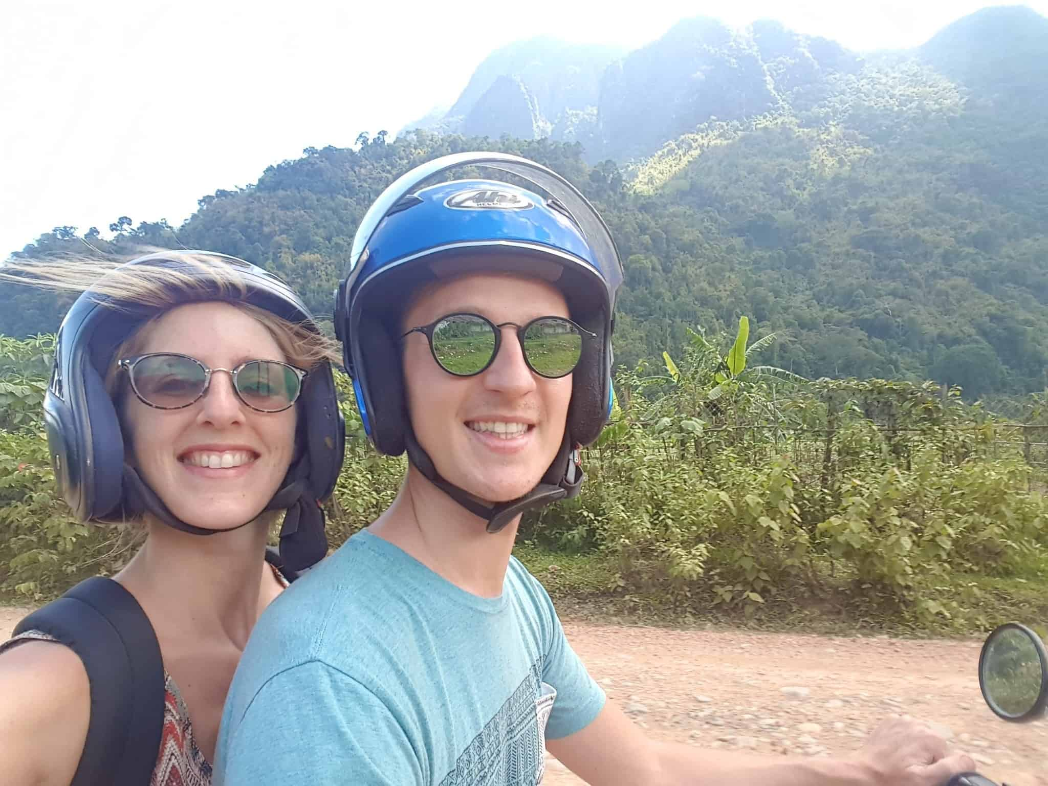 Laos, au cœur de la magnifique campagne de Vang Vieng en moto cross 🏍 7