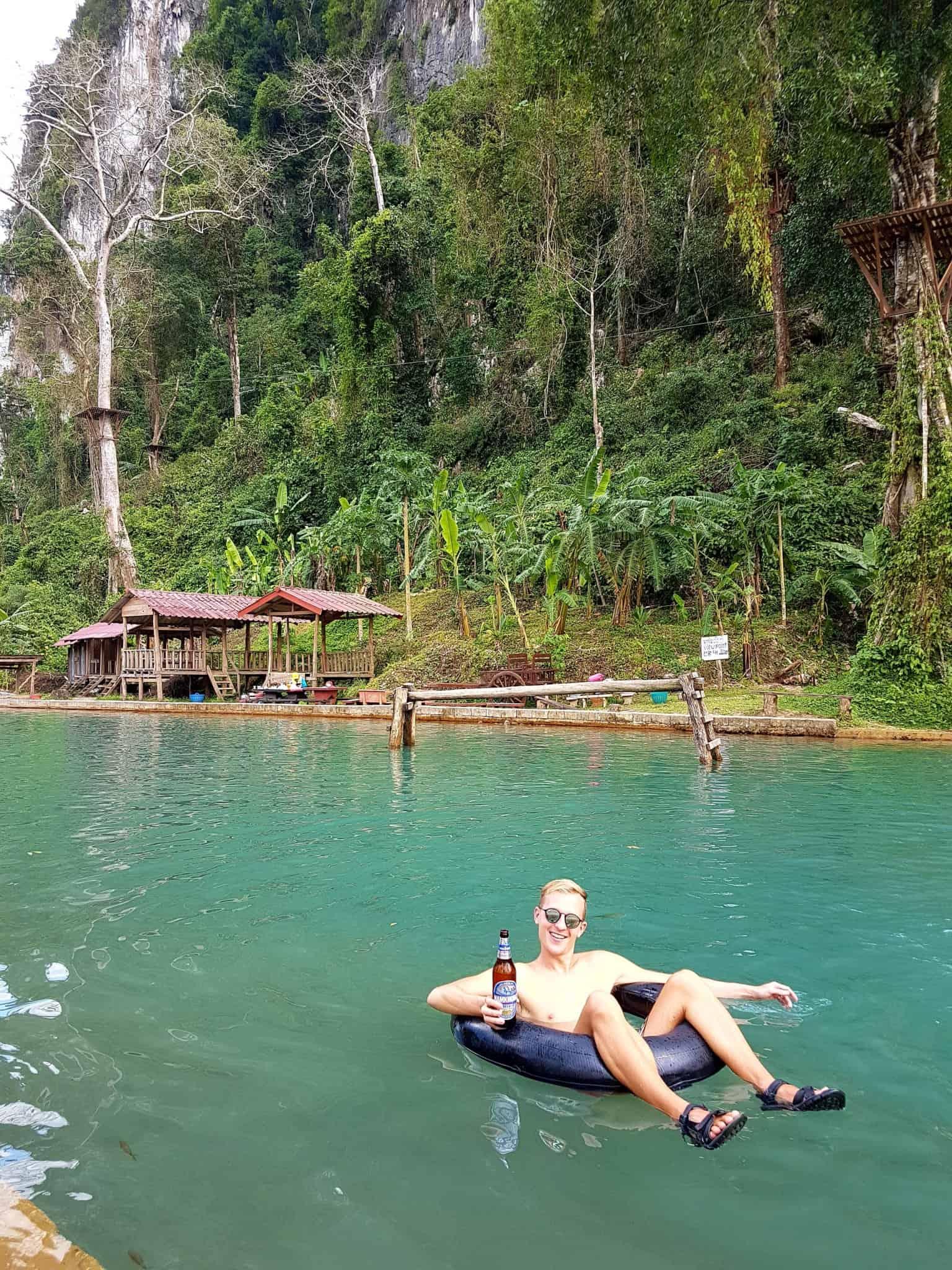 Laos, au cœur de la magnifique campagne de Vang Vieng en moto cross 🏍 13