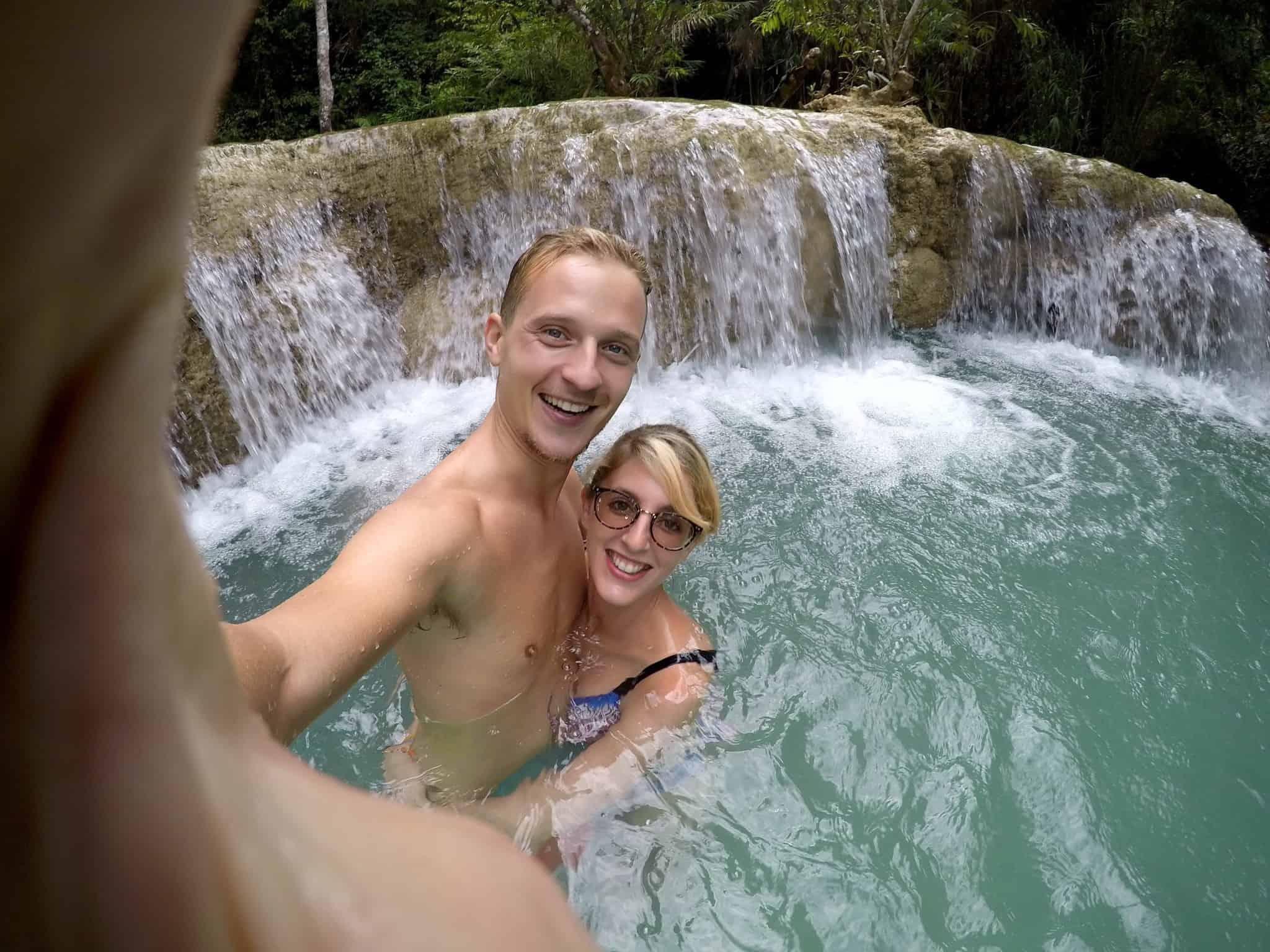 Laos, Kuang Si Waterfall une cascade à couper le souffle 👙 8