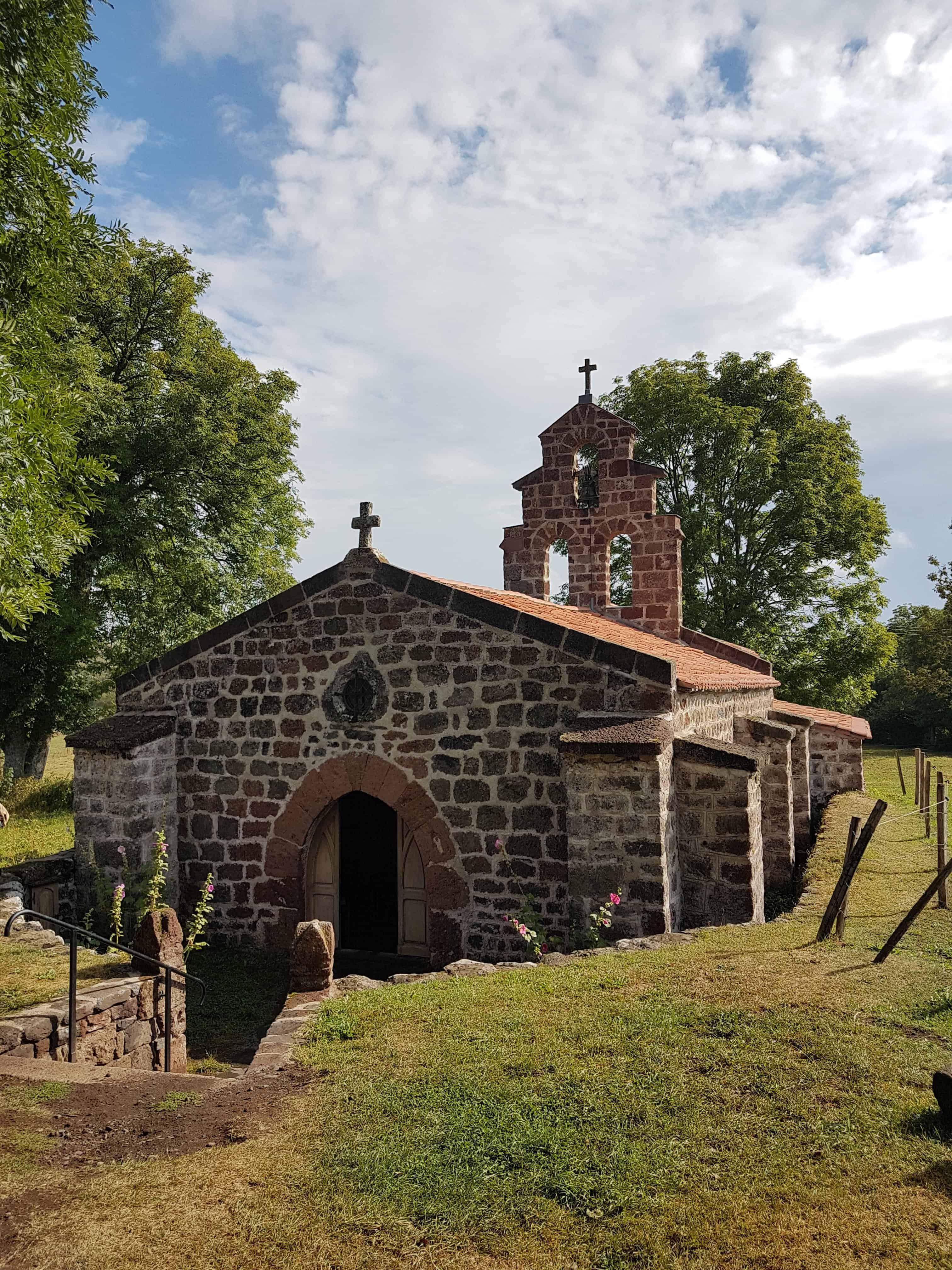 Chemin de Compostelle, poursuivi par la pluie jusqu'à Saint-Privat-d'Allier 🌧 4