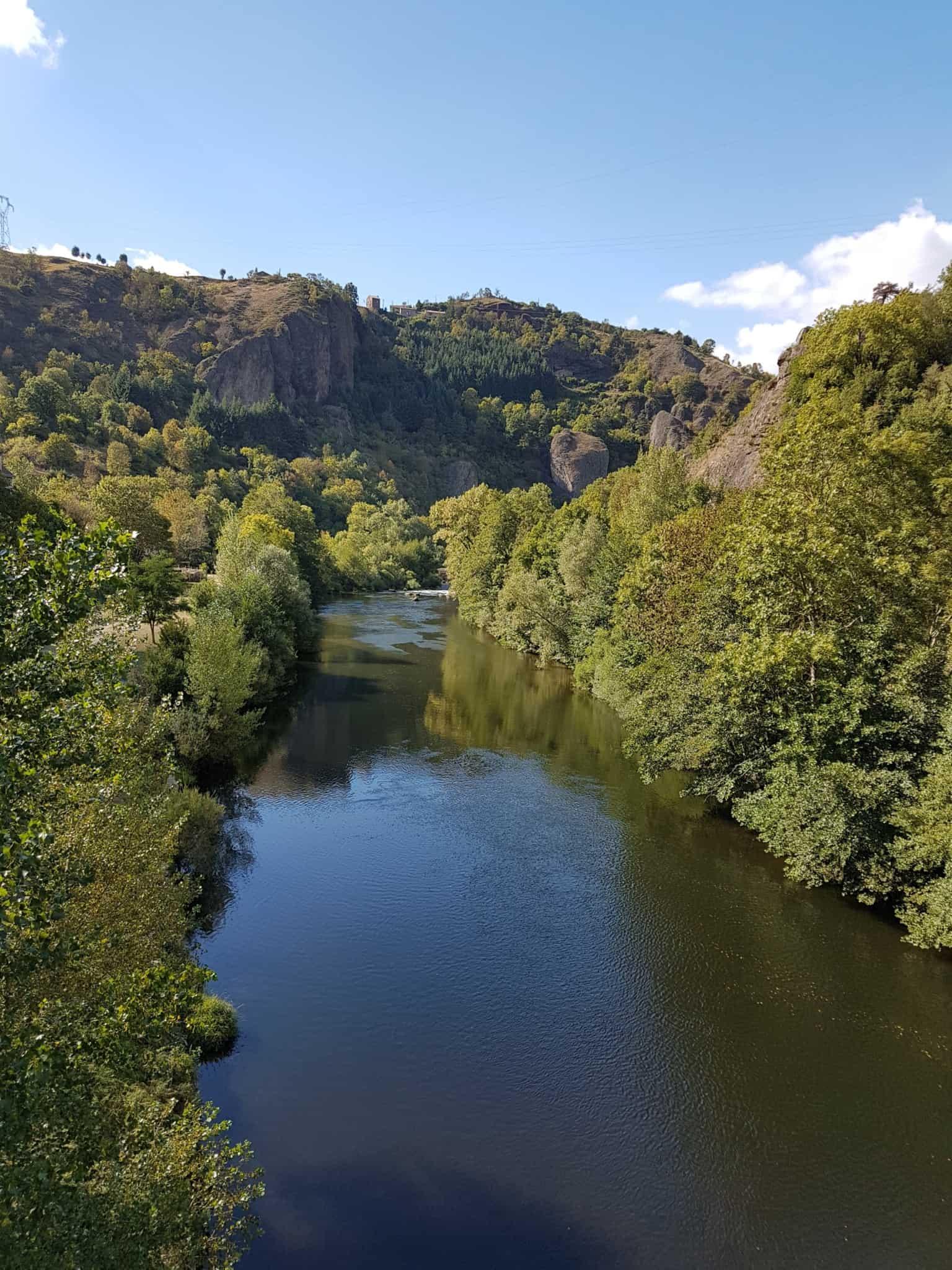 Chemin de Compostelle, en marche vers le pont Eiffel de Monistrol d'Allier 🌉 10