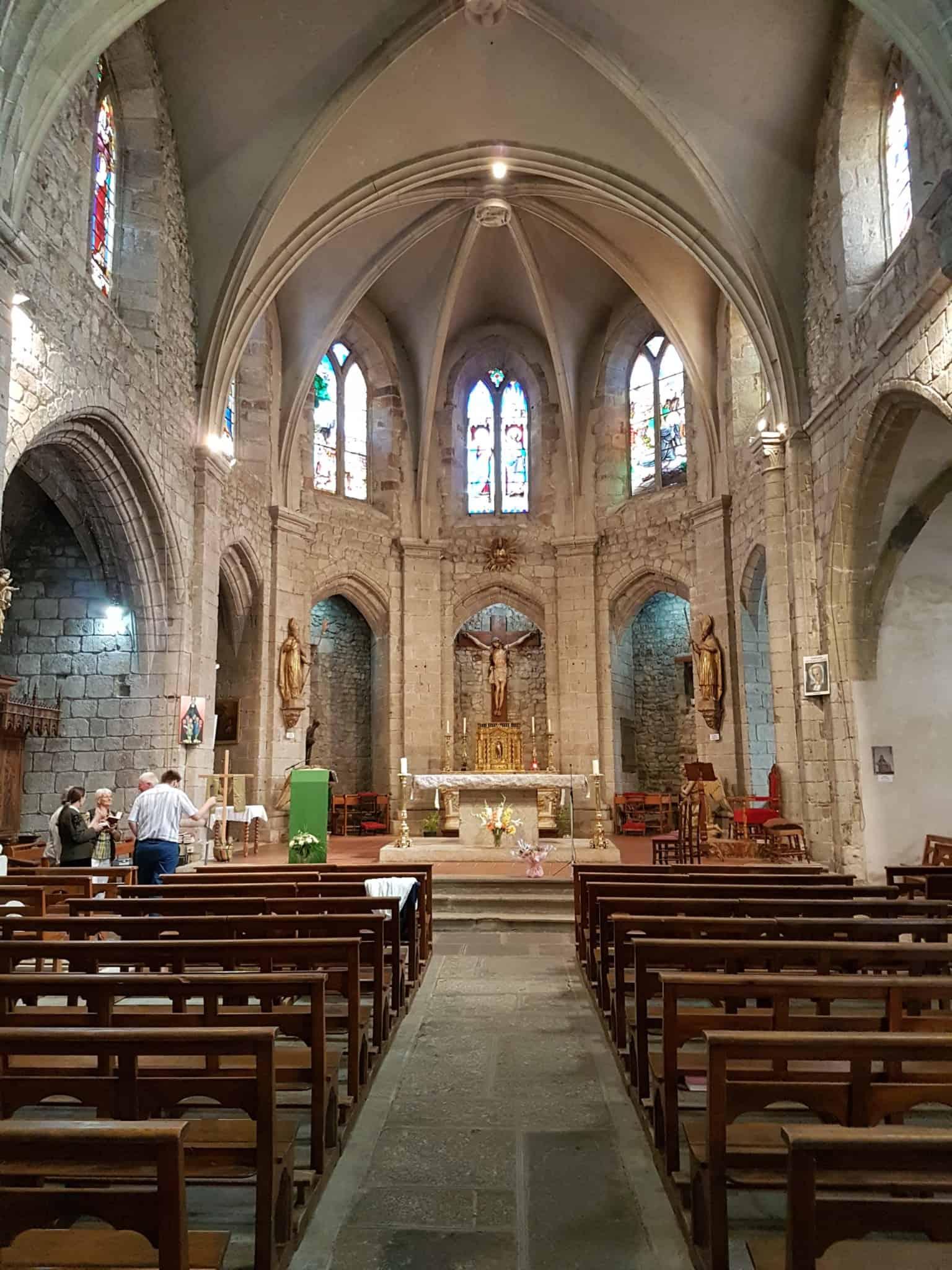 Chemin de Compostelle, au sommet de la Tour des Anglais de Saugues 🏰 14