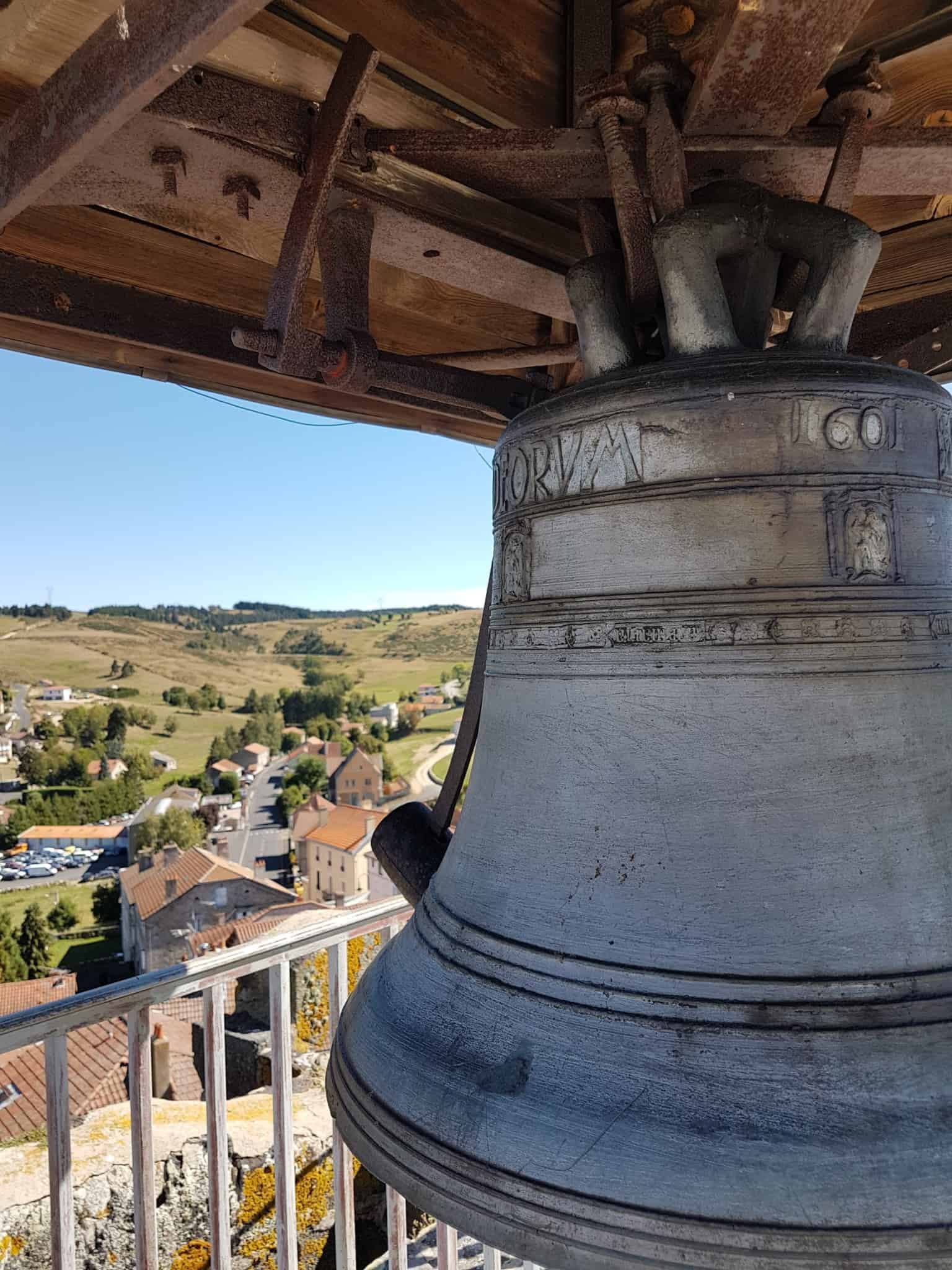 Chemin de Compostelle, au sommet de la Tour des Anglais de Saugues 🏰 19