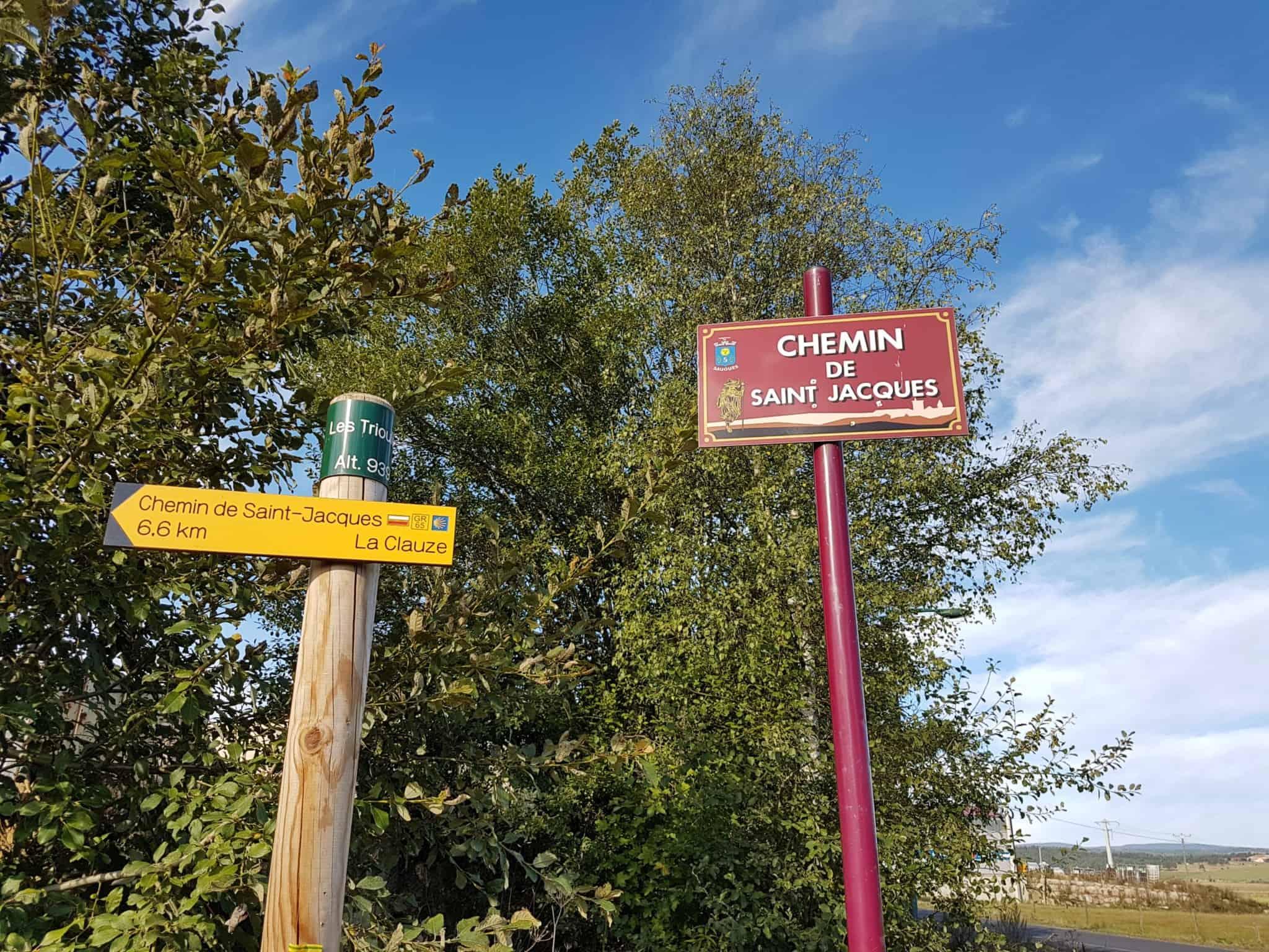 Chemin de Compostelle, arrivée à Chanaleilles avec les jambes lourdes 🦶 2