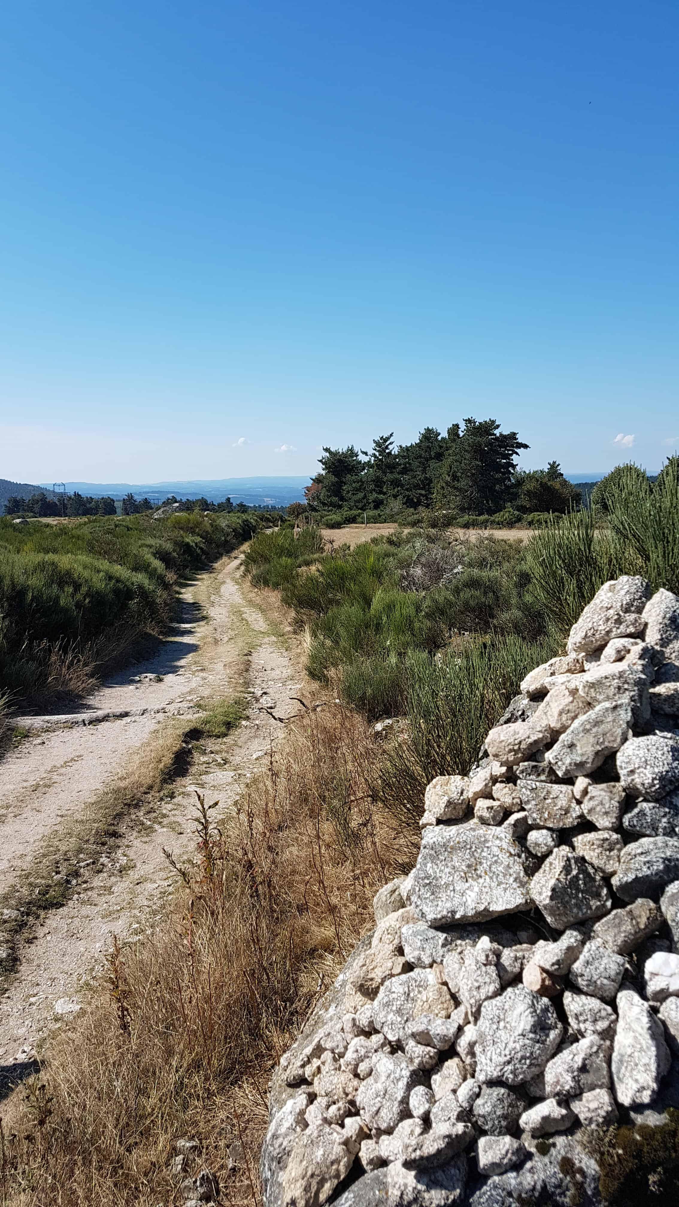 Chemin de Compostelle, on survole l'étape et arrivons à Saint Alban sur Limagnole 🤩 14
