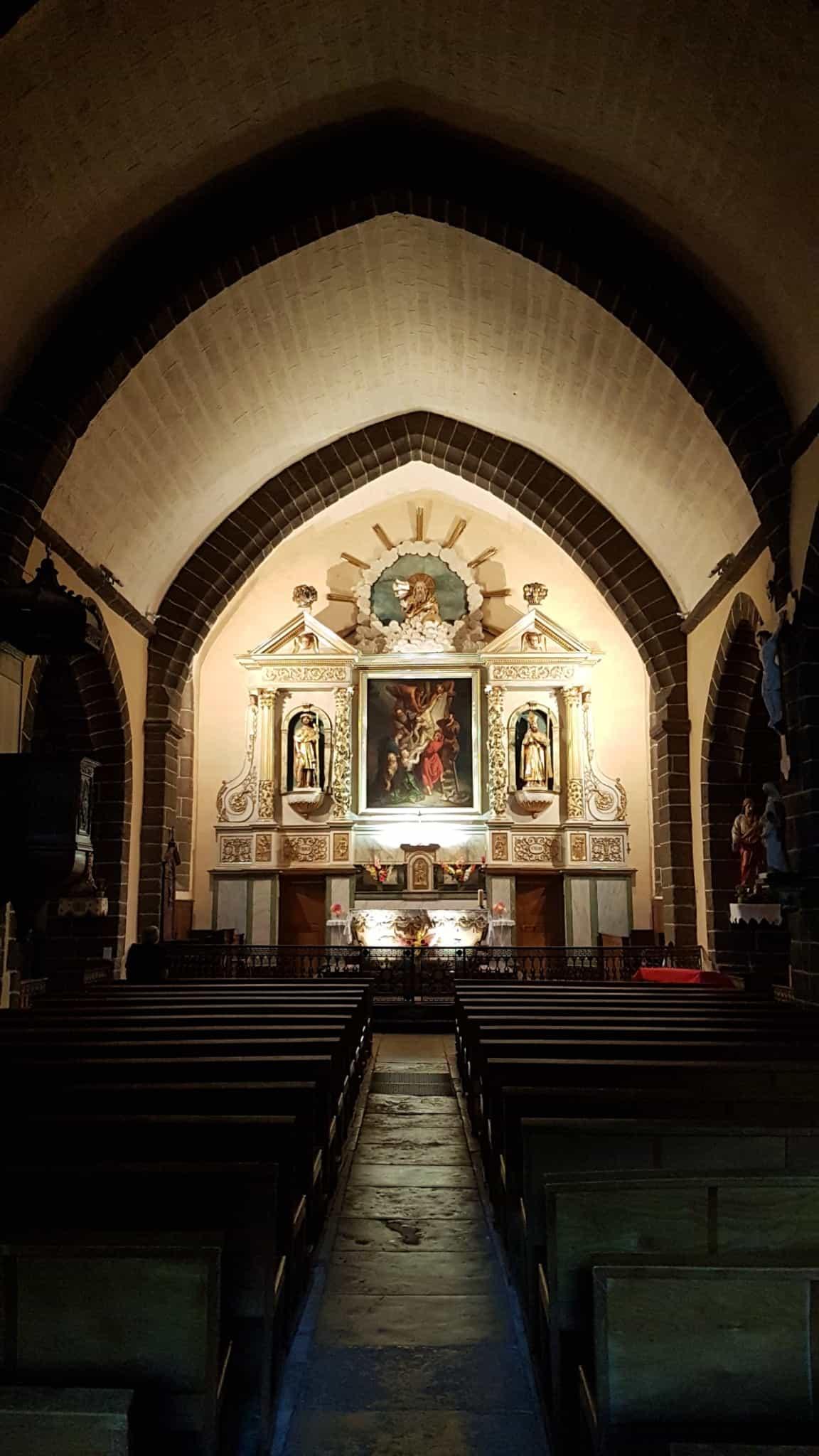 Chemin de Compostelle, on dort dans le couvent de Saint Côme-d'Olt ⛪ 22