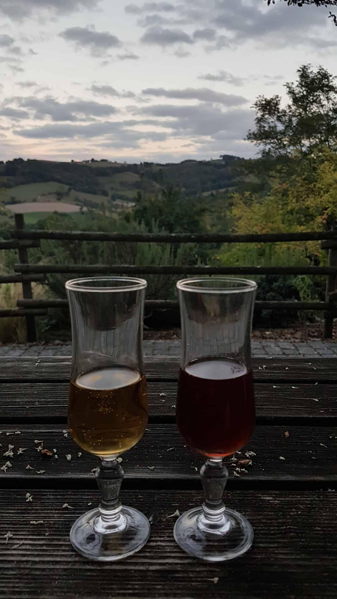 Chemin de Compostelle, une belle soirée au clair de lune à Sénergues 🌚 22
